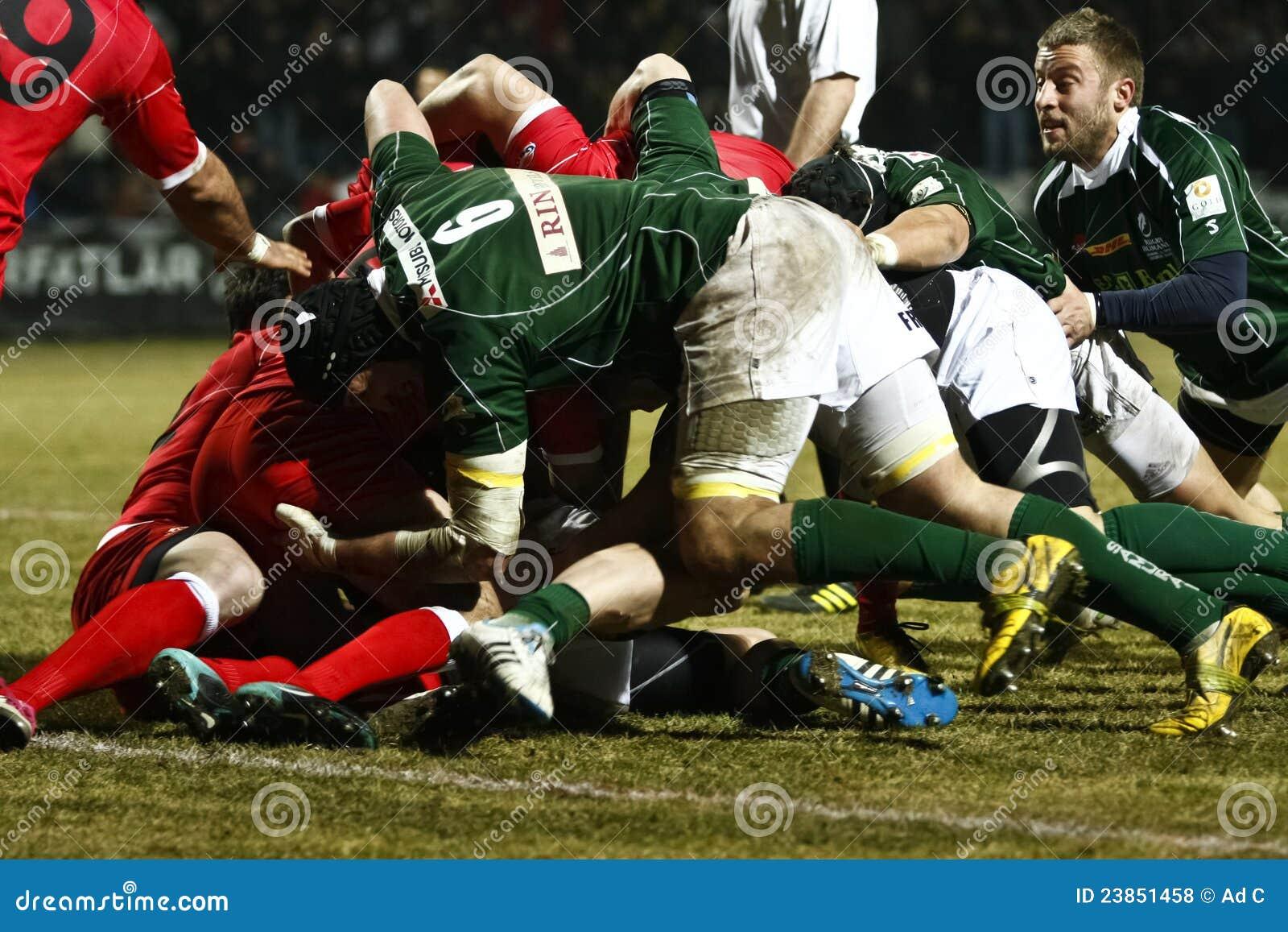 Rugby: Romania- Gruzja