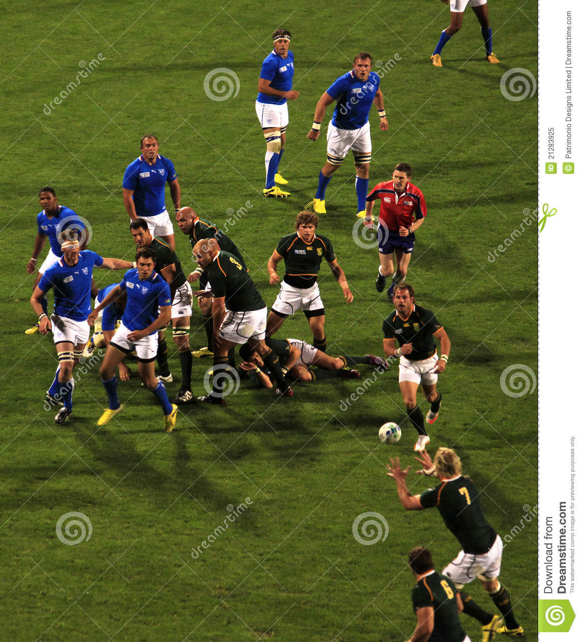 South West Rugby Cups: Rugby World Cup 2011 South Africa Versus Namibia Editorial