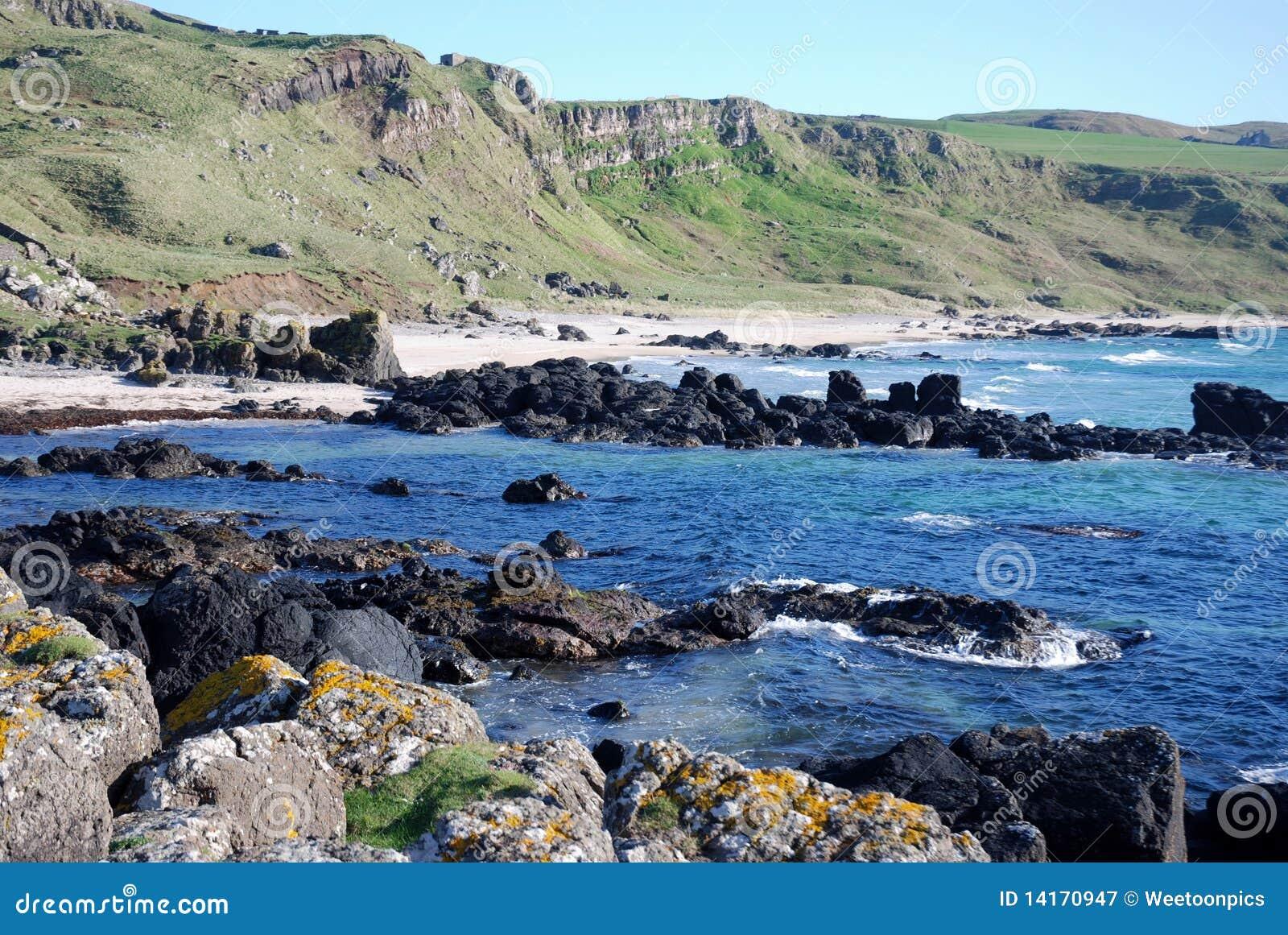 Rugged Coast of Machrihanish.