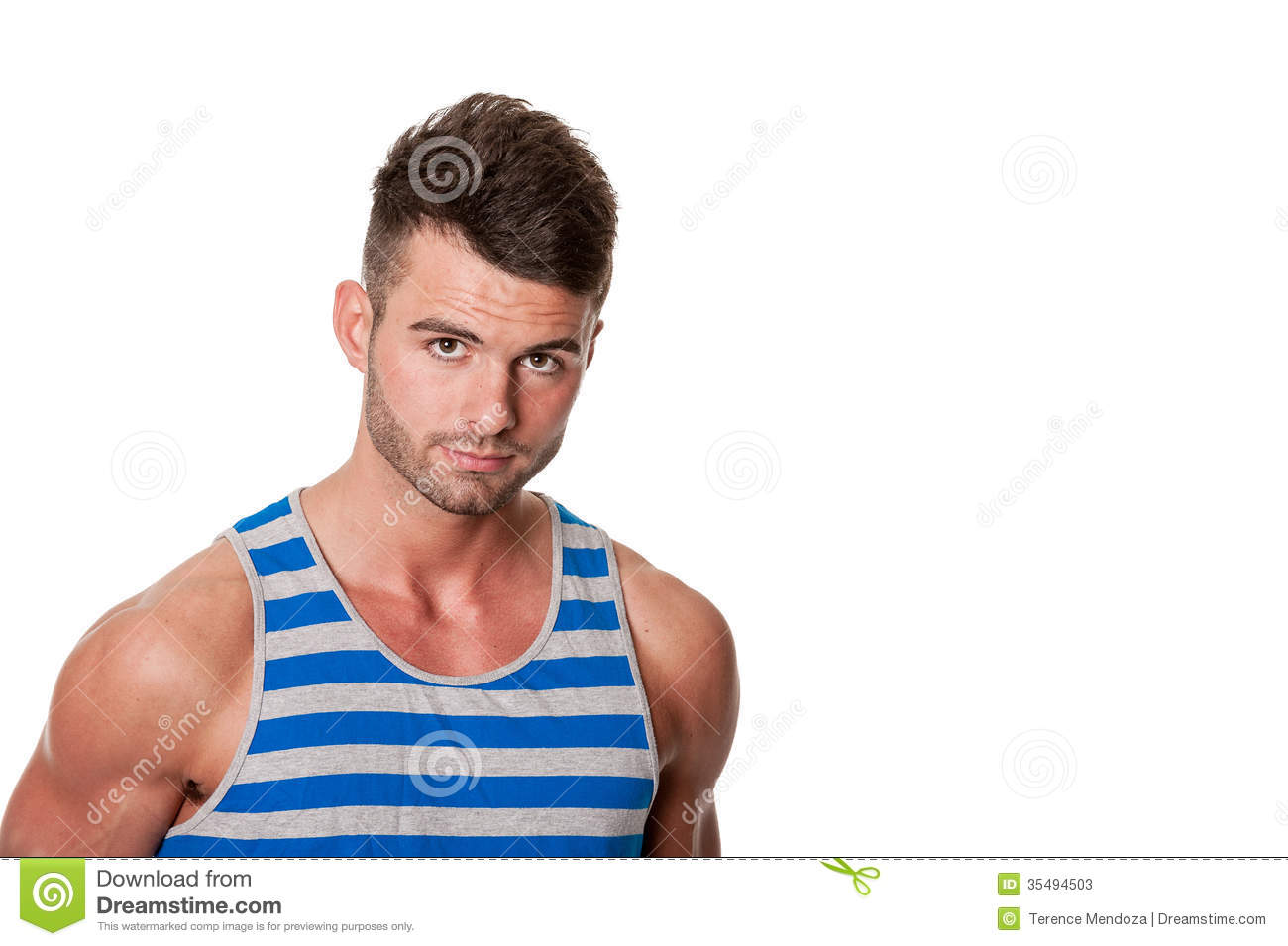Stock Photos  Rugged handsome young manHandsome Rugged Man