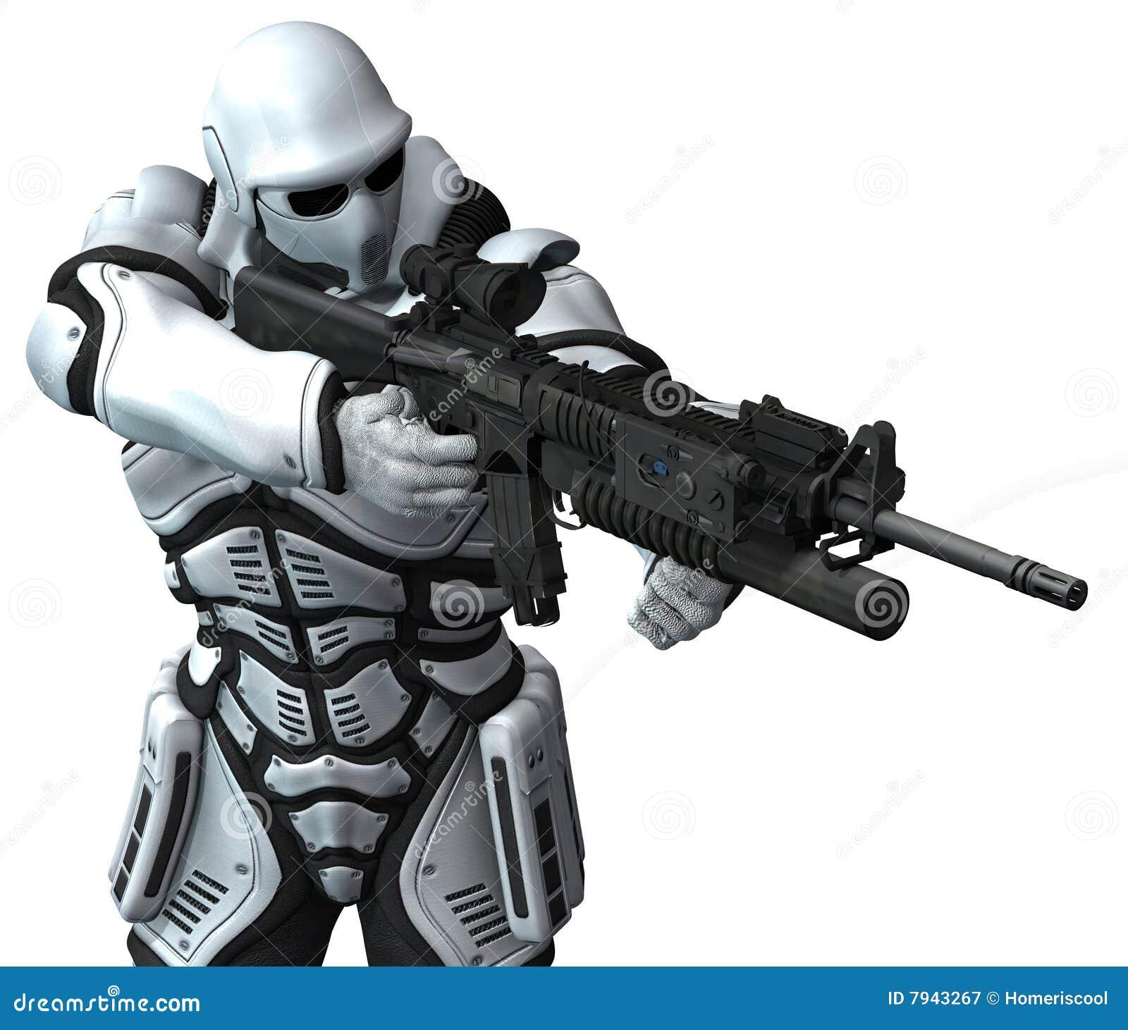 Ruimte mariene militair. warhammer
