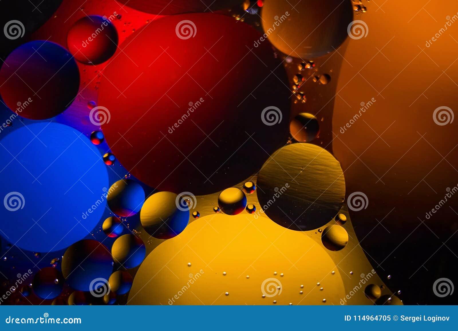 Ruimte of van het planetenheelal kosmische abstracte achtergrond Abstracte moleculesctructure Macro van lucht of molecule wordt g