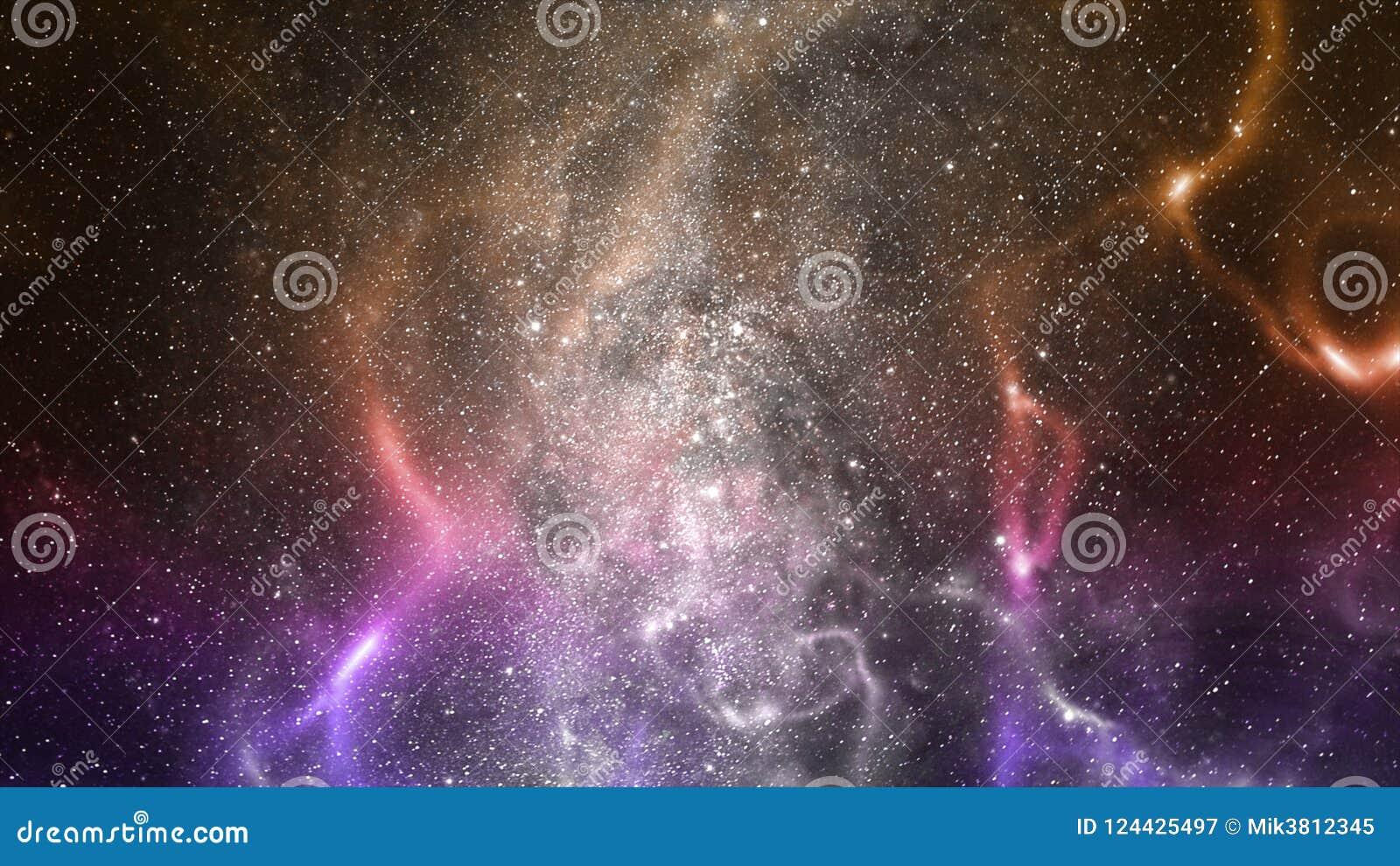 Ruimtemelkwegillustratie