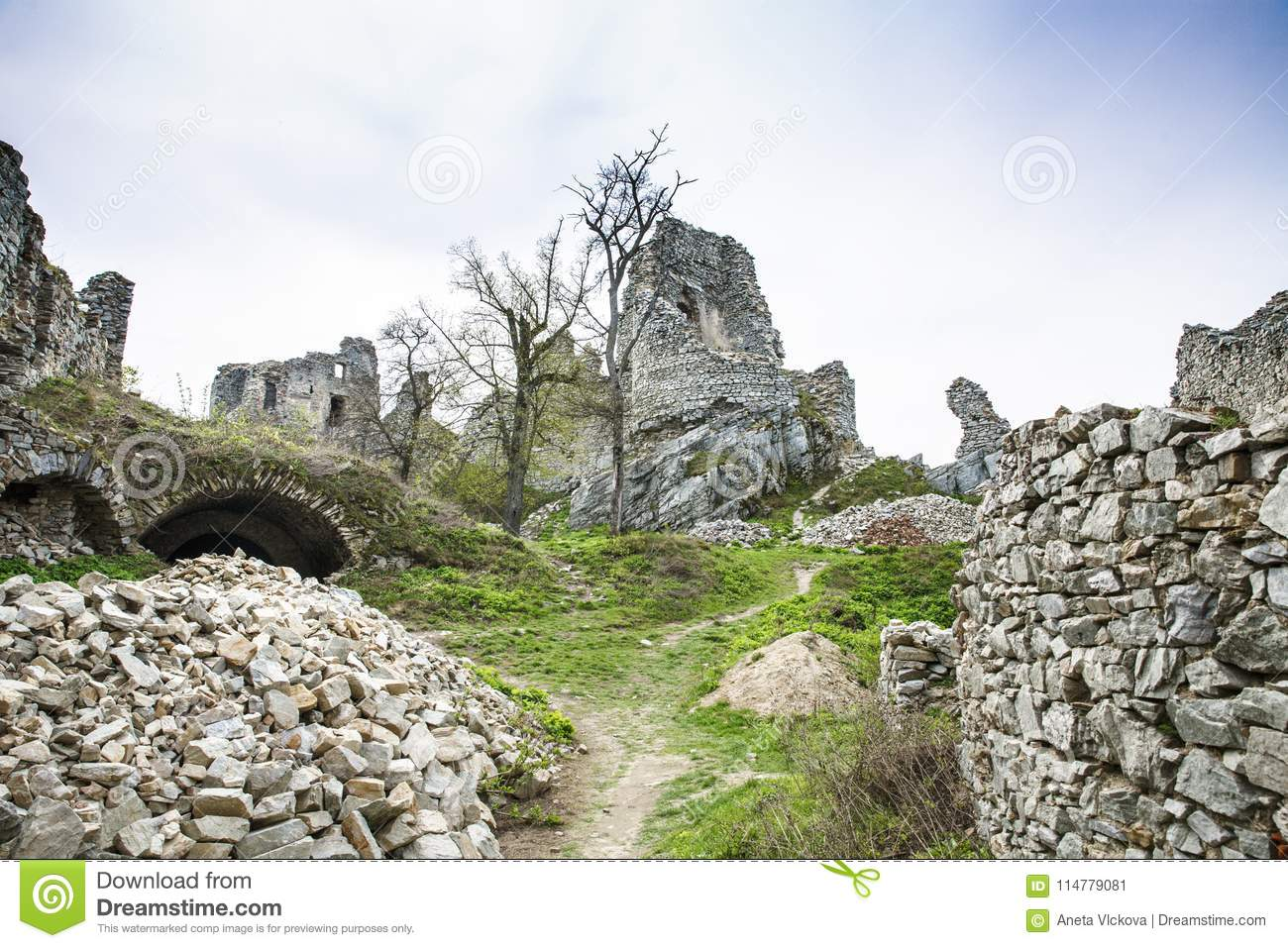 Ruin of Gymes castle