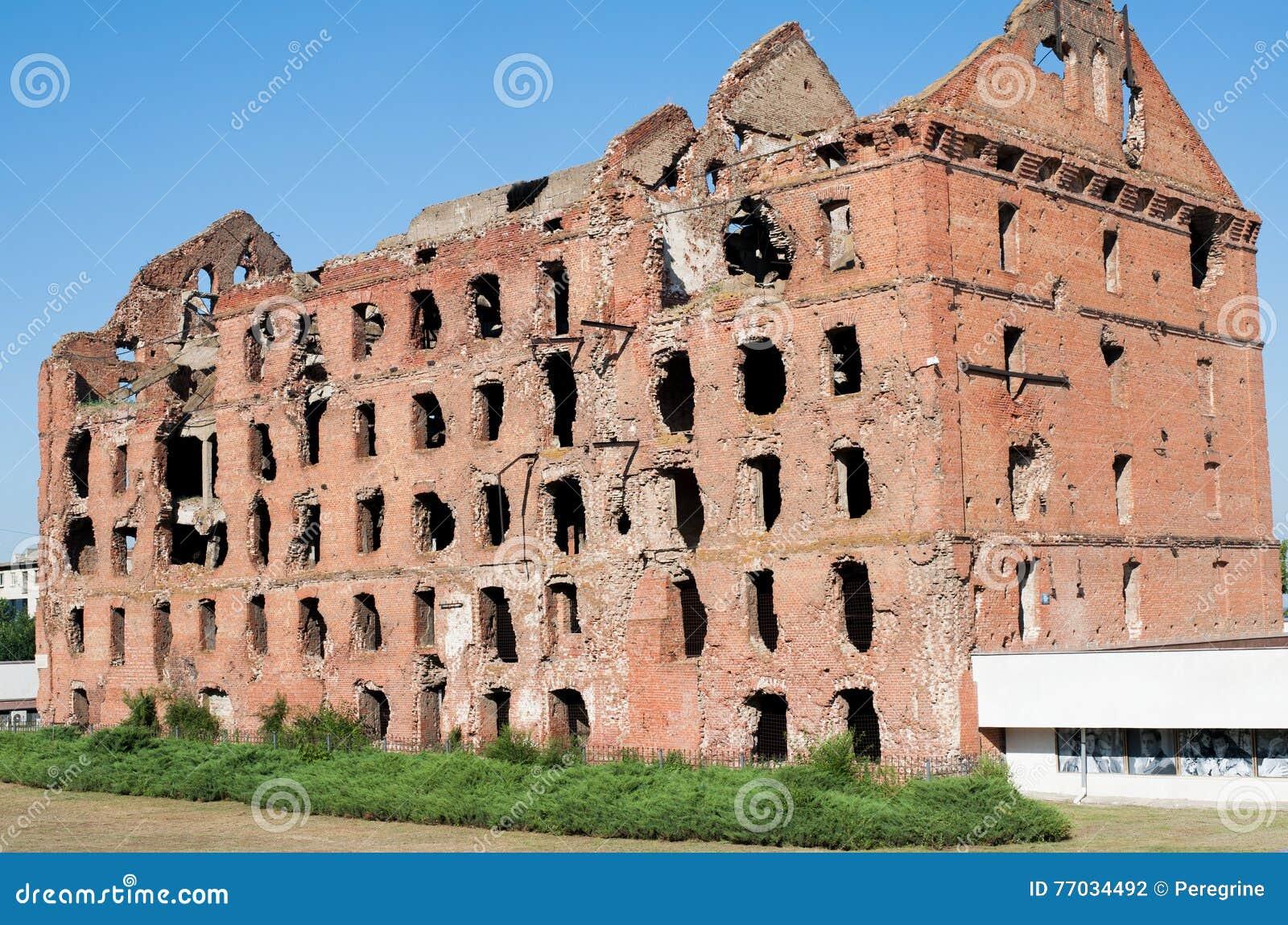 Ruined mill of Gergardt in Volgograd 6