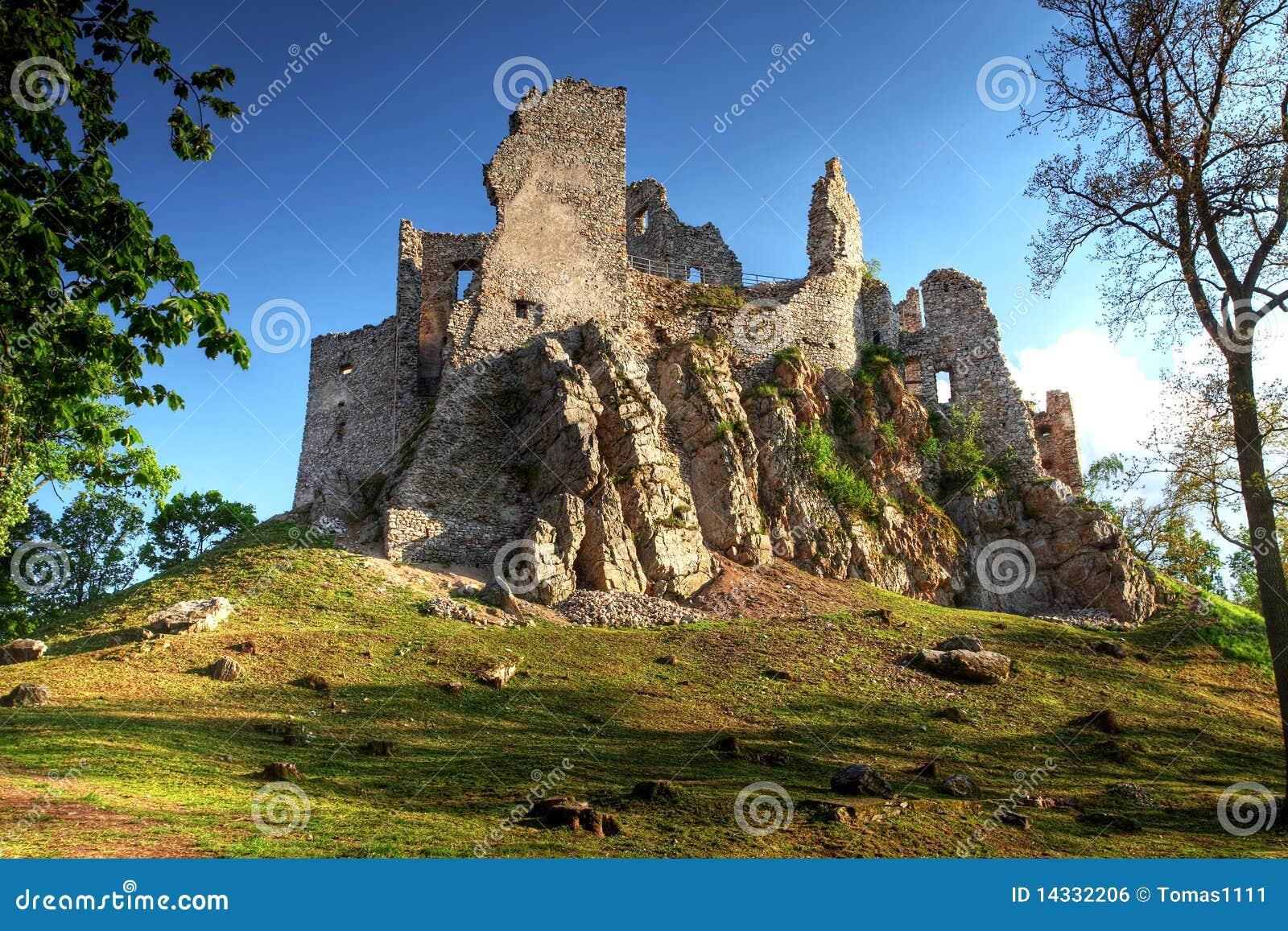 Ruina del castillo Hrusov