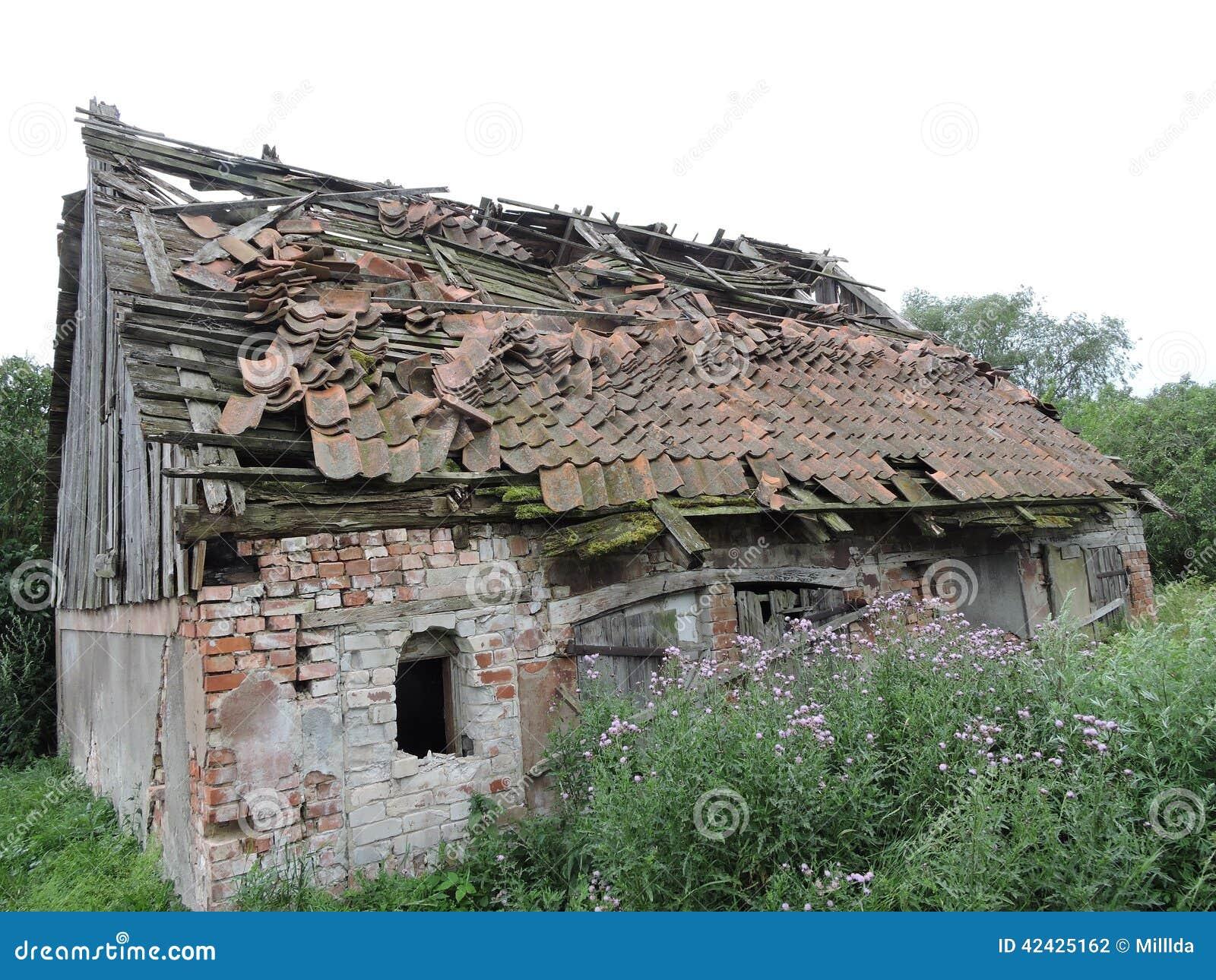 Ruina vieja de la casa