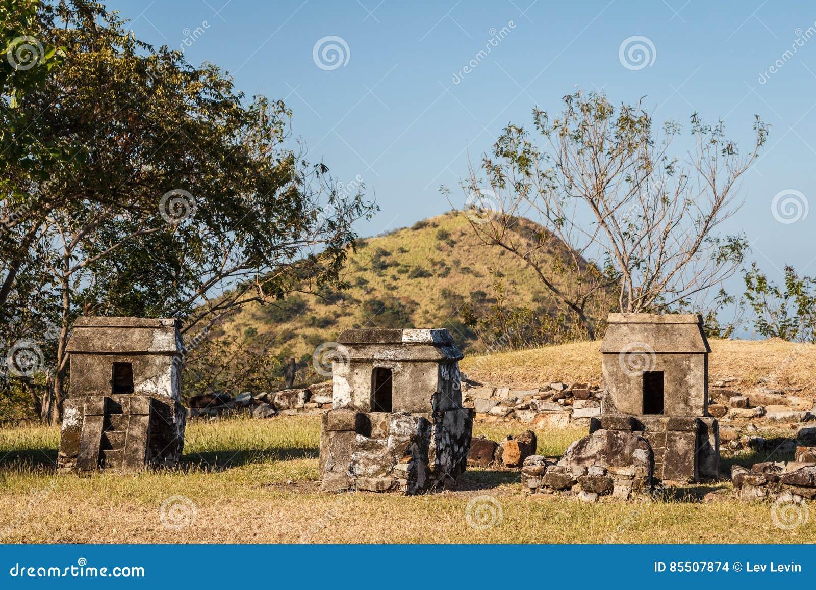 Ruinas de la ciudad Quiahuiztlan, estado de los pre-hispanos de Veracruz