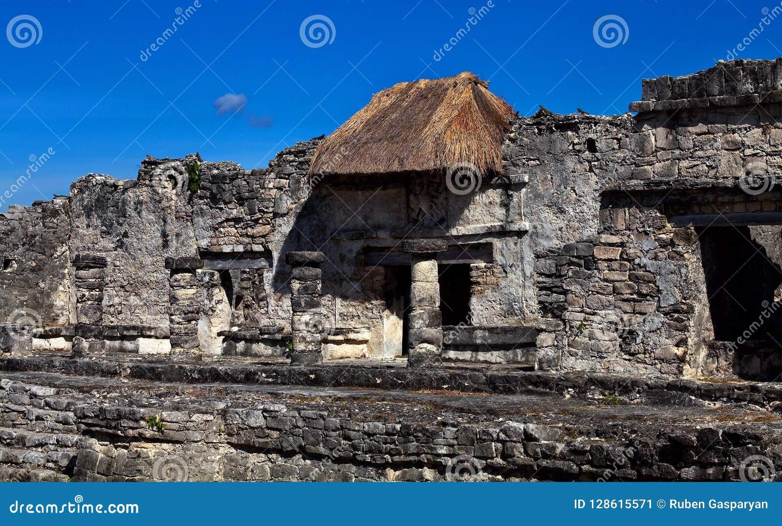 Ruinas de las ciudades antiguas del maya