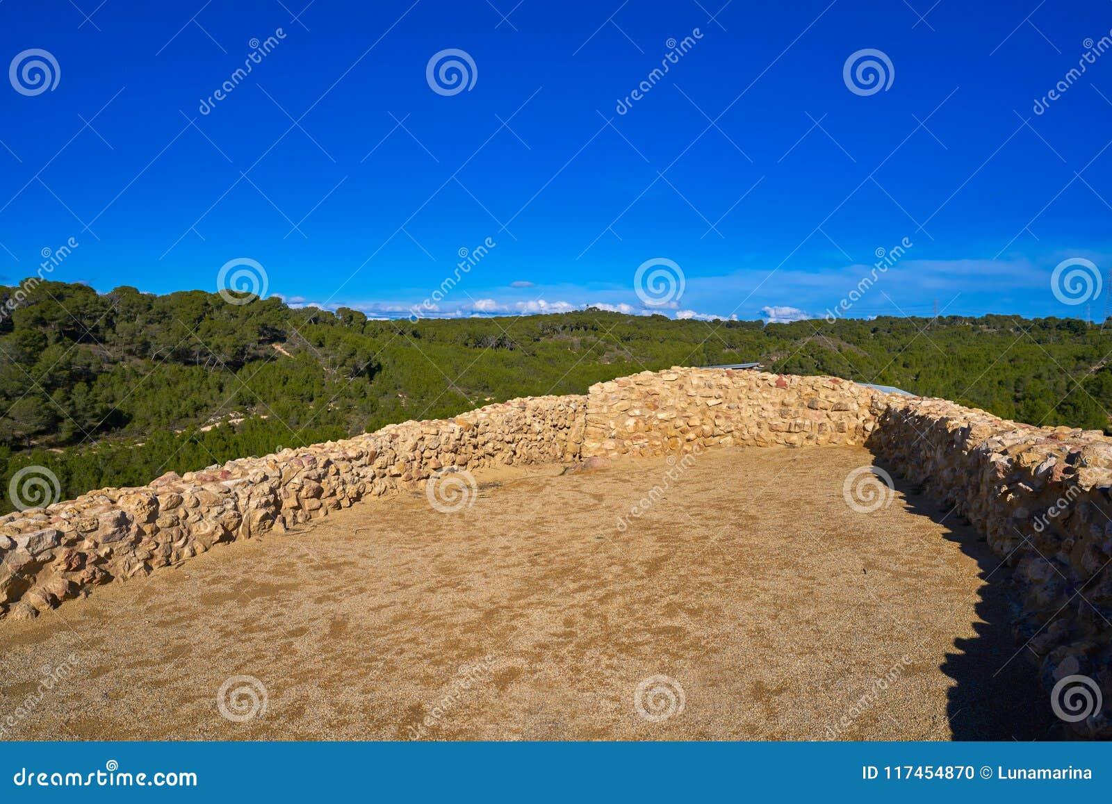 Ruinas de los ibéricos en Vallesa de Paterna