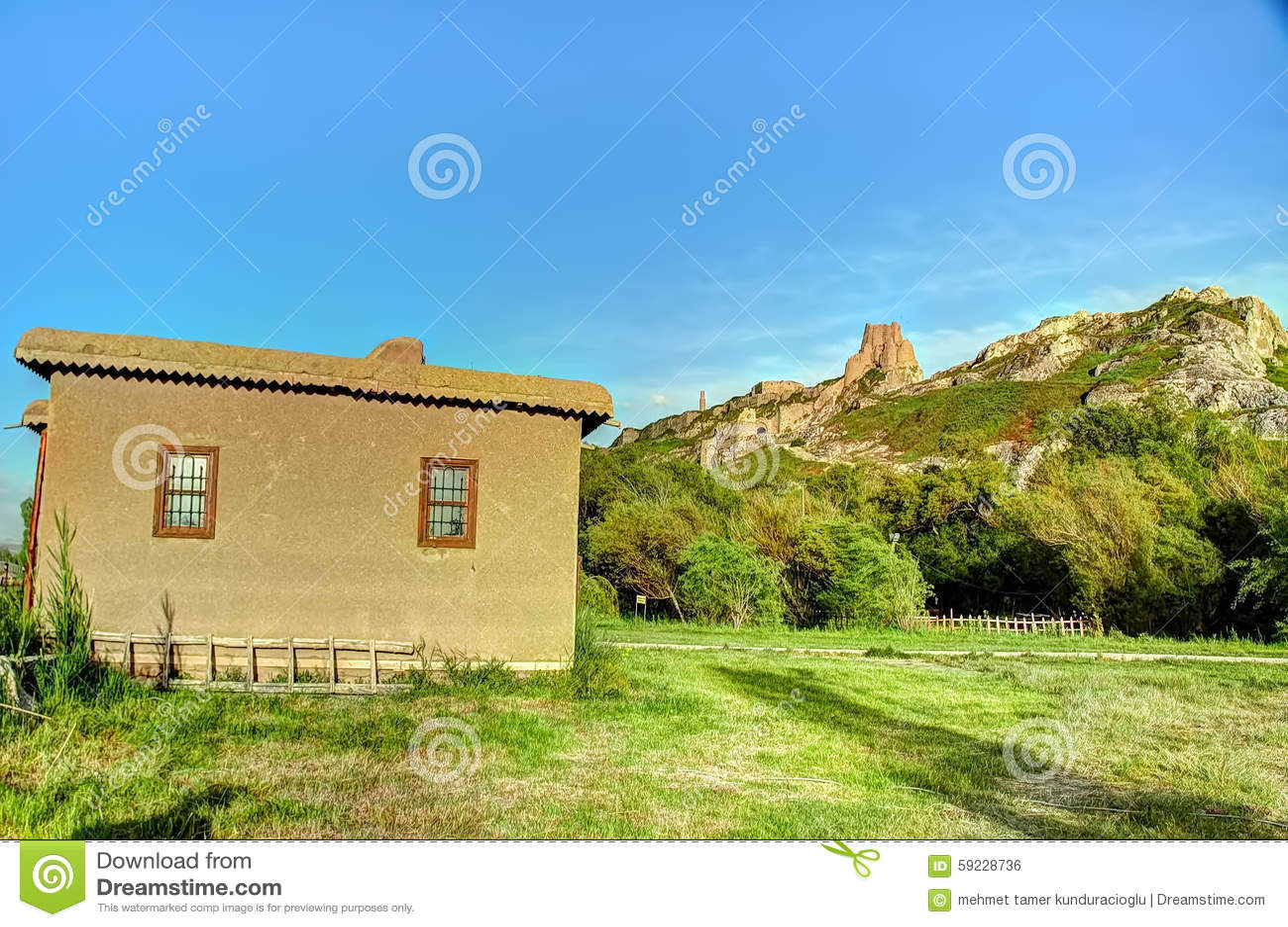 Ruinas de Tushpa, reino de Urartu con Van Fortress