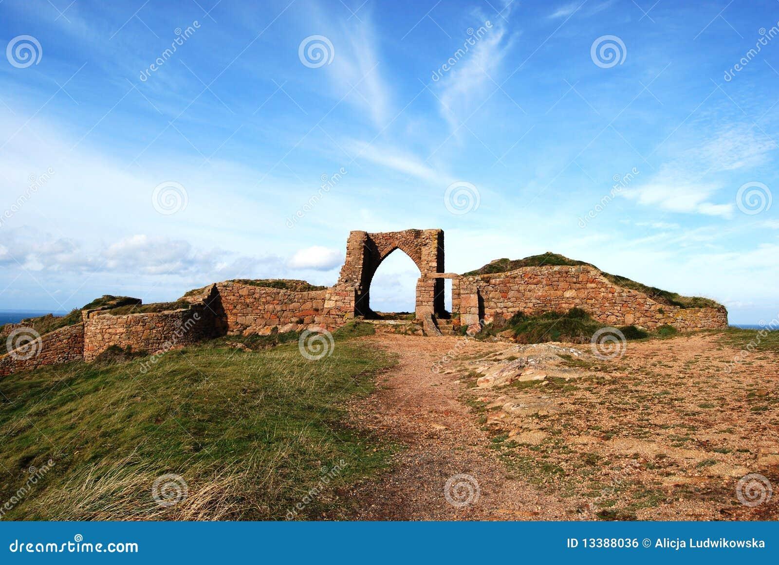 Ruinas del castillo del grosnez