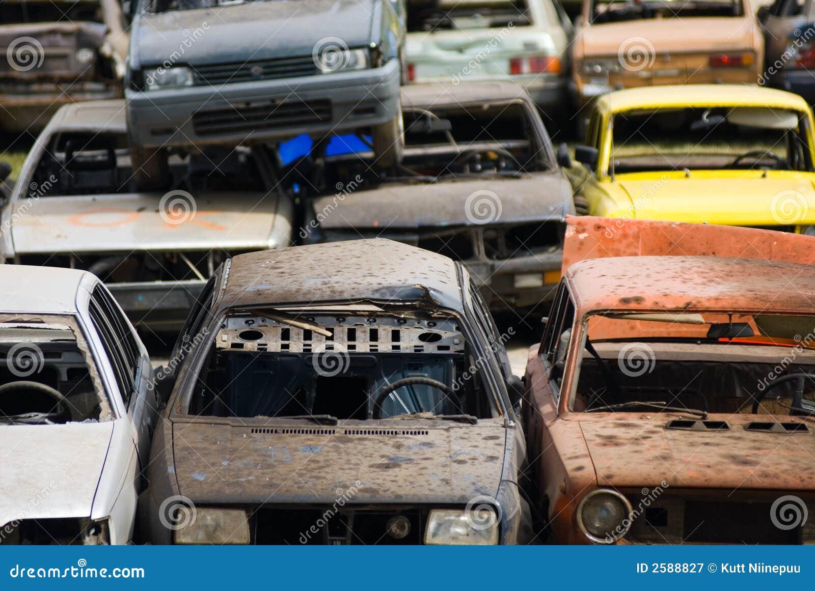 Ruinas del coche