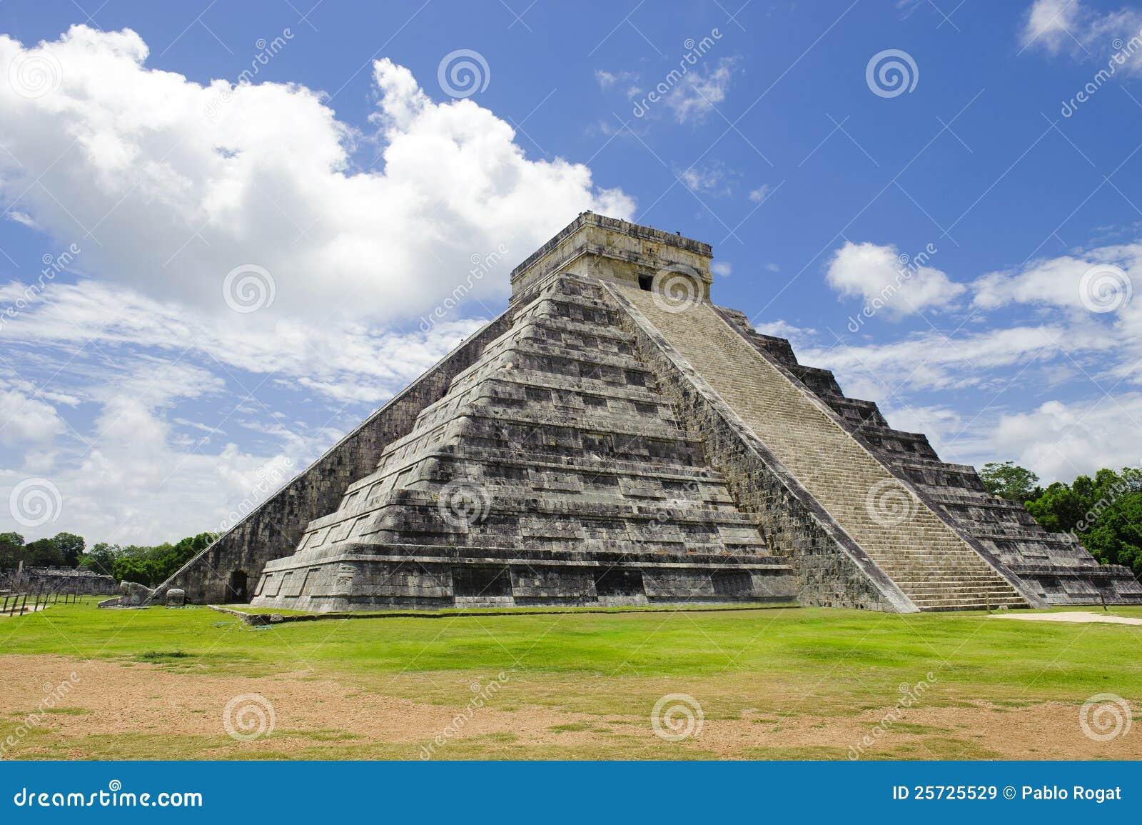 Ruinas del mexicano en Chichen Itza