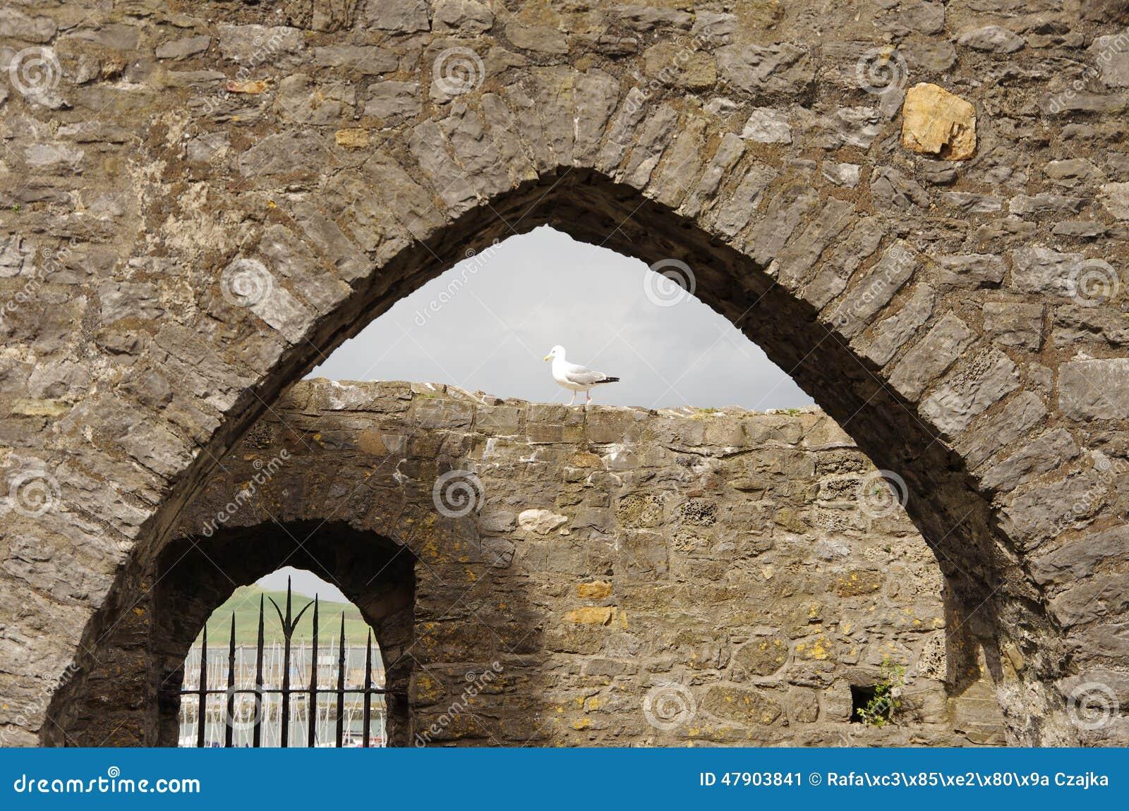 Ruinas en Howth