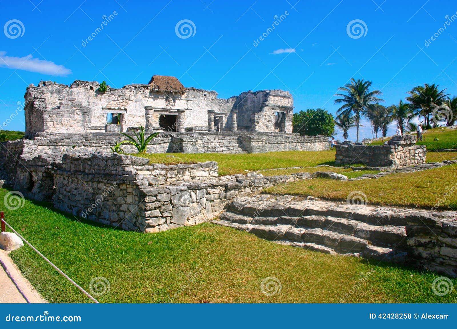 Ruinas mayas en Tulum México