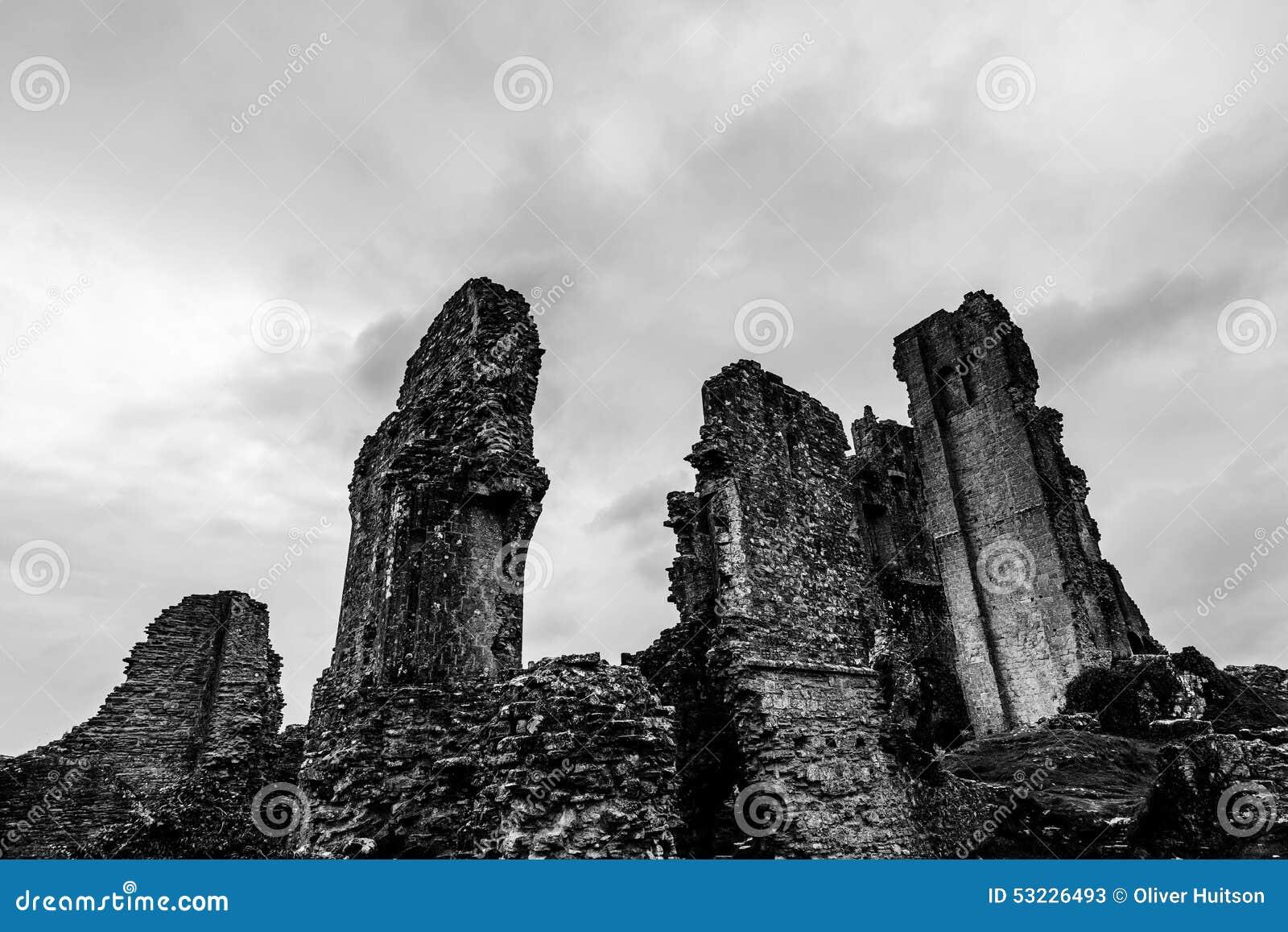 Ruinas tristes de Dorset