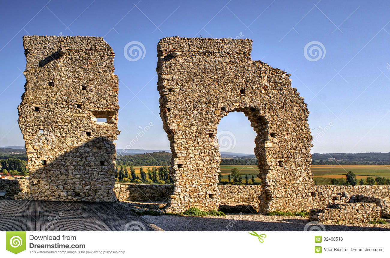 Ruined castle of Montemor-o-Velho