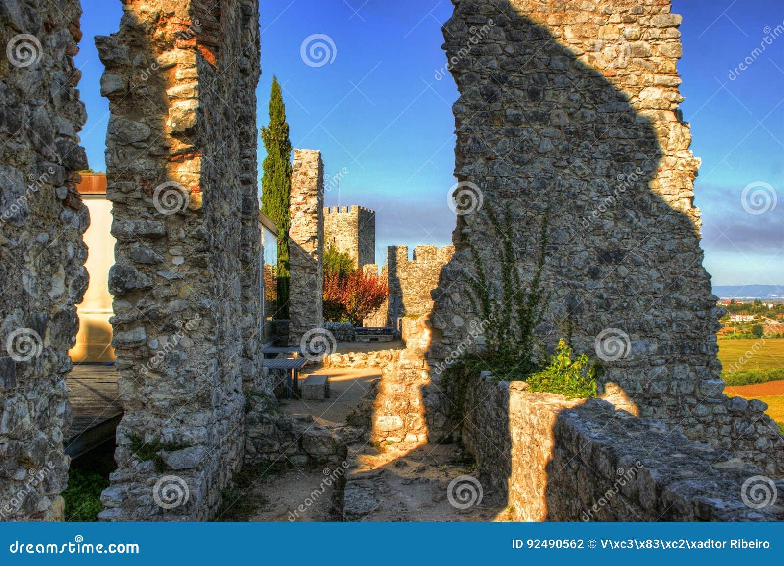 Ruined castle of Montemor-o-Velho