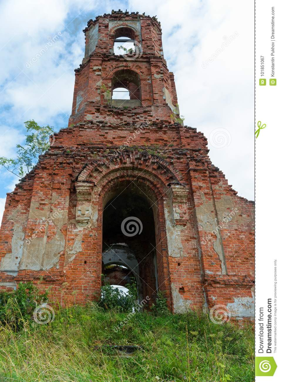 Old Belfry stock image  Image of atheism, color, brick
