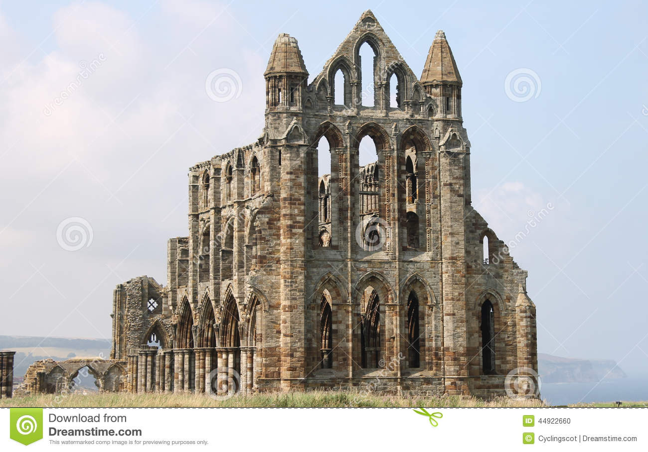 ruined medieval whitby abbey stock photo image 44922660 dracula clip art black and white dracula clip art photos