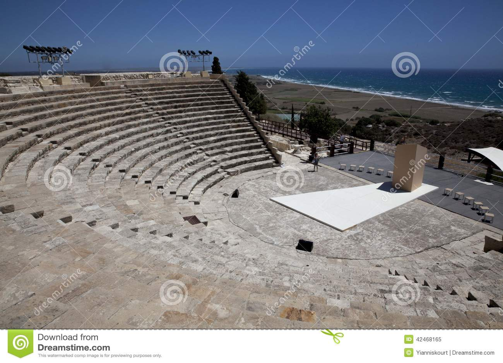 Ruinen bei Kourion, Zypern