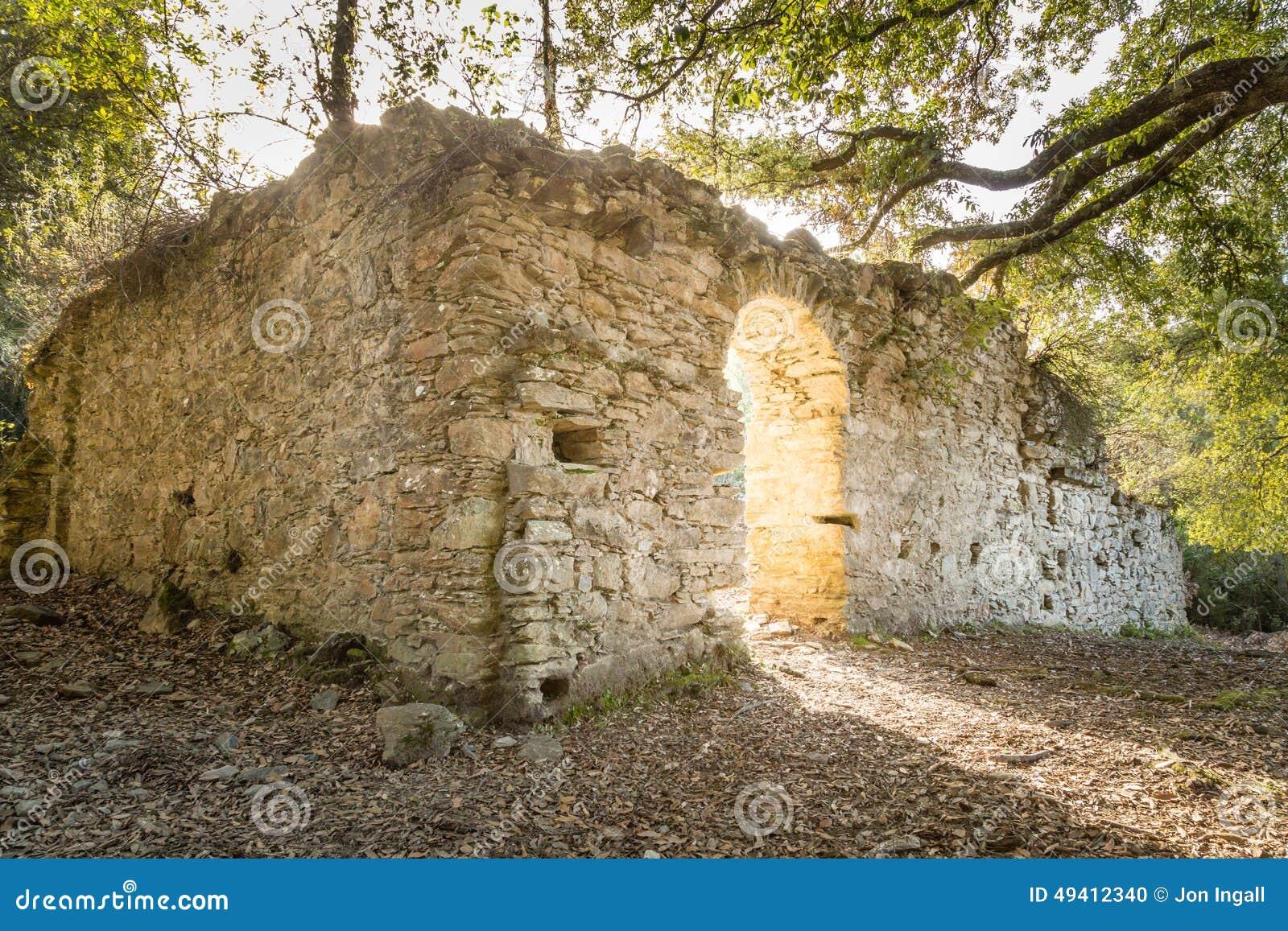 Download Ruinen Des Alten Klosters Nahe Corsoli In Korsika Stockfoto - Bild von stein, frankreich: 49412340