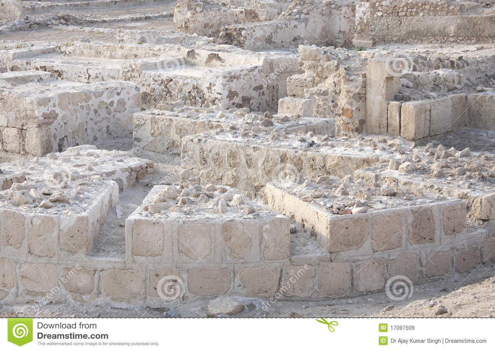 Ruinen des Bahrain-Forts