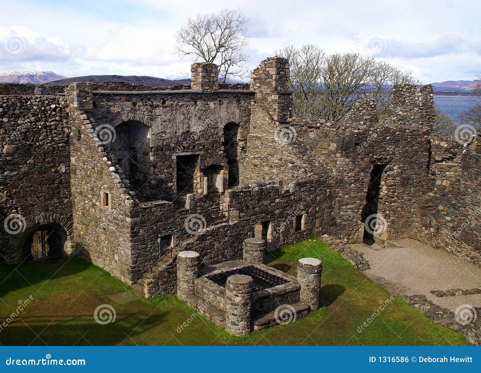 Ruines écossaises de château