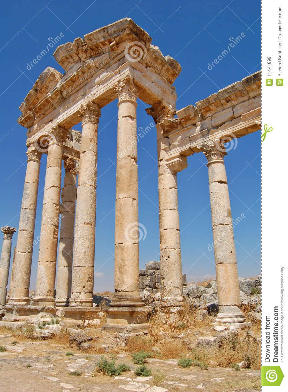 Ruines d Aphamia, Syrie
