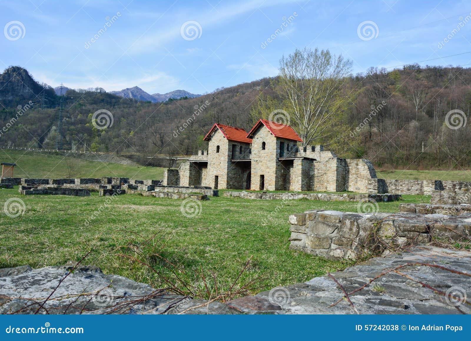 Ruines d Arutela Roman Castle