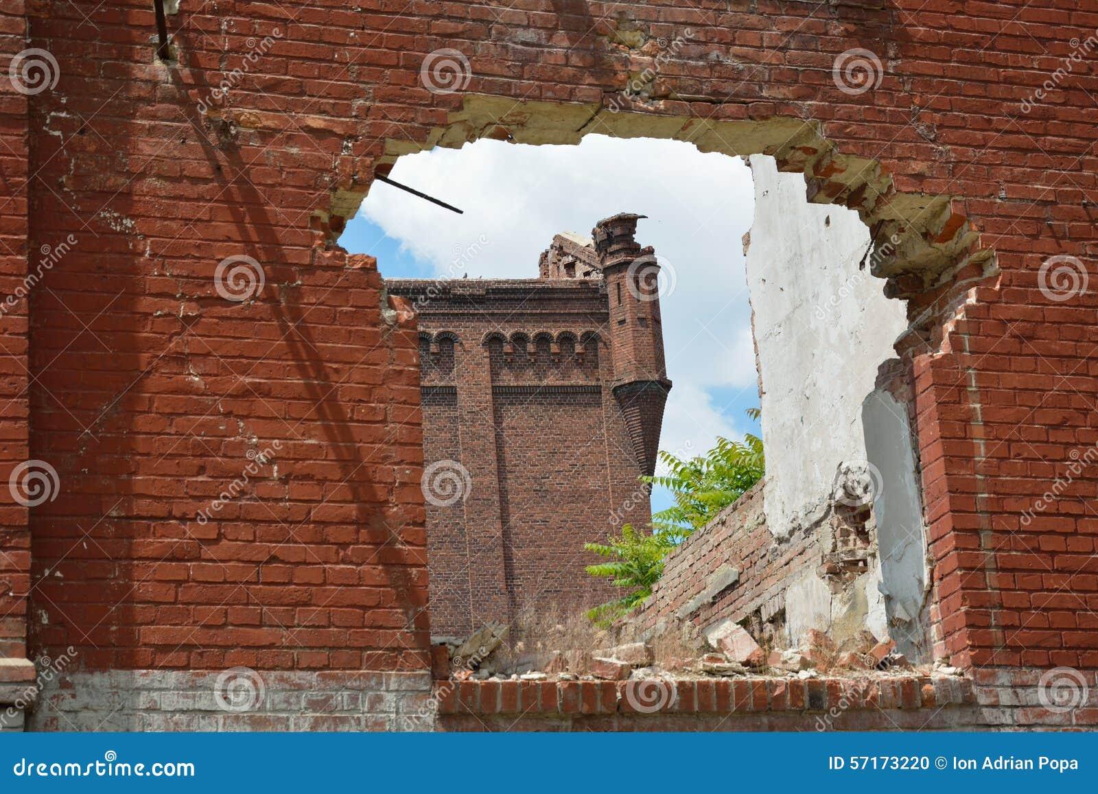 Ruines d Assan Mill, Bucarest