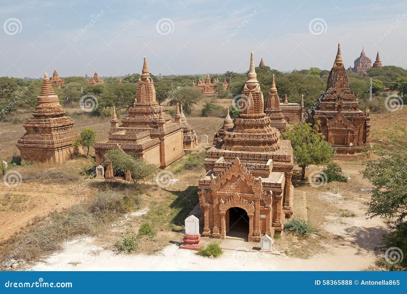 Ruines de Bagan, Myanmar