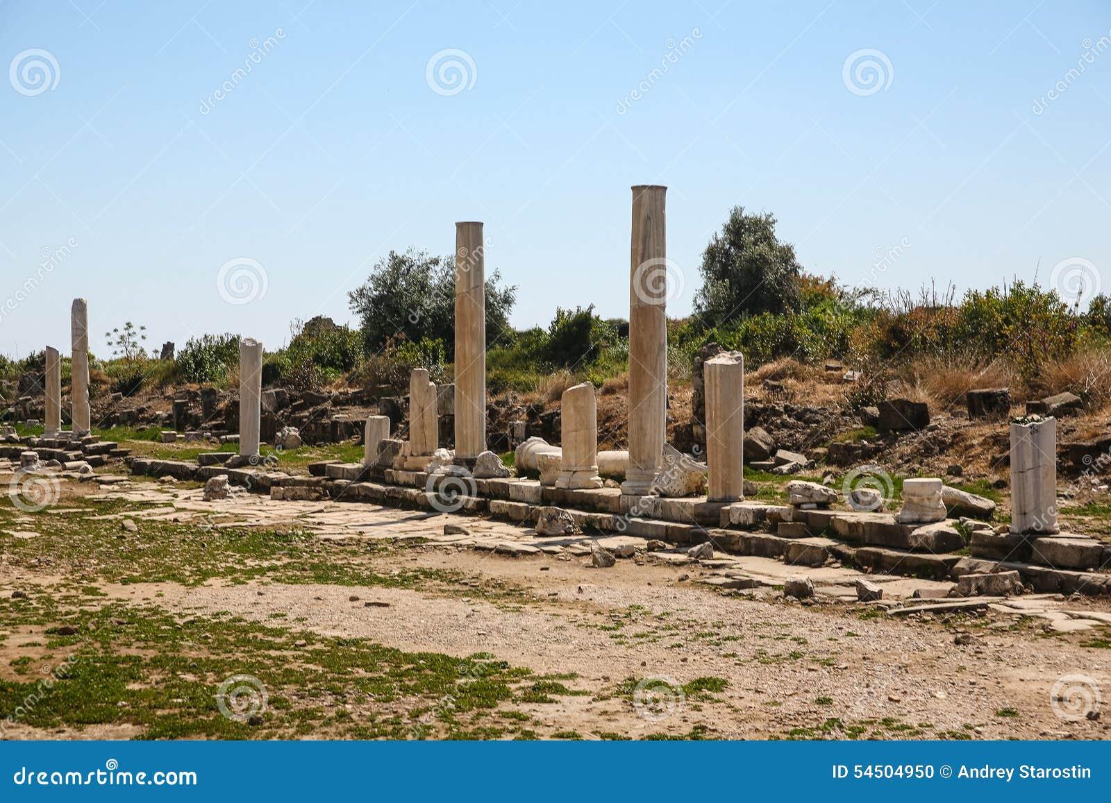 Ruines de côté