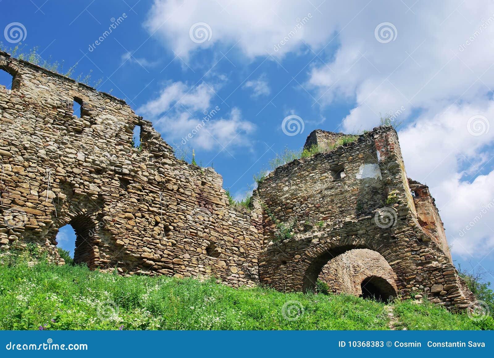 Ruines de forteresse