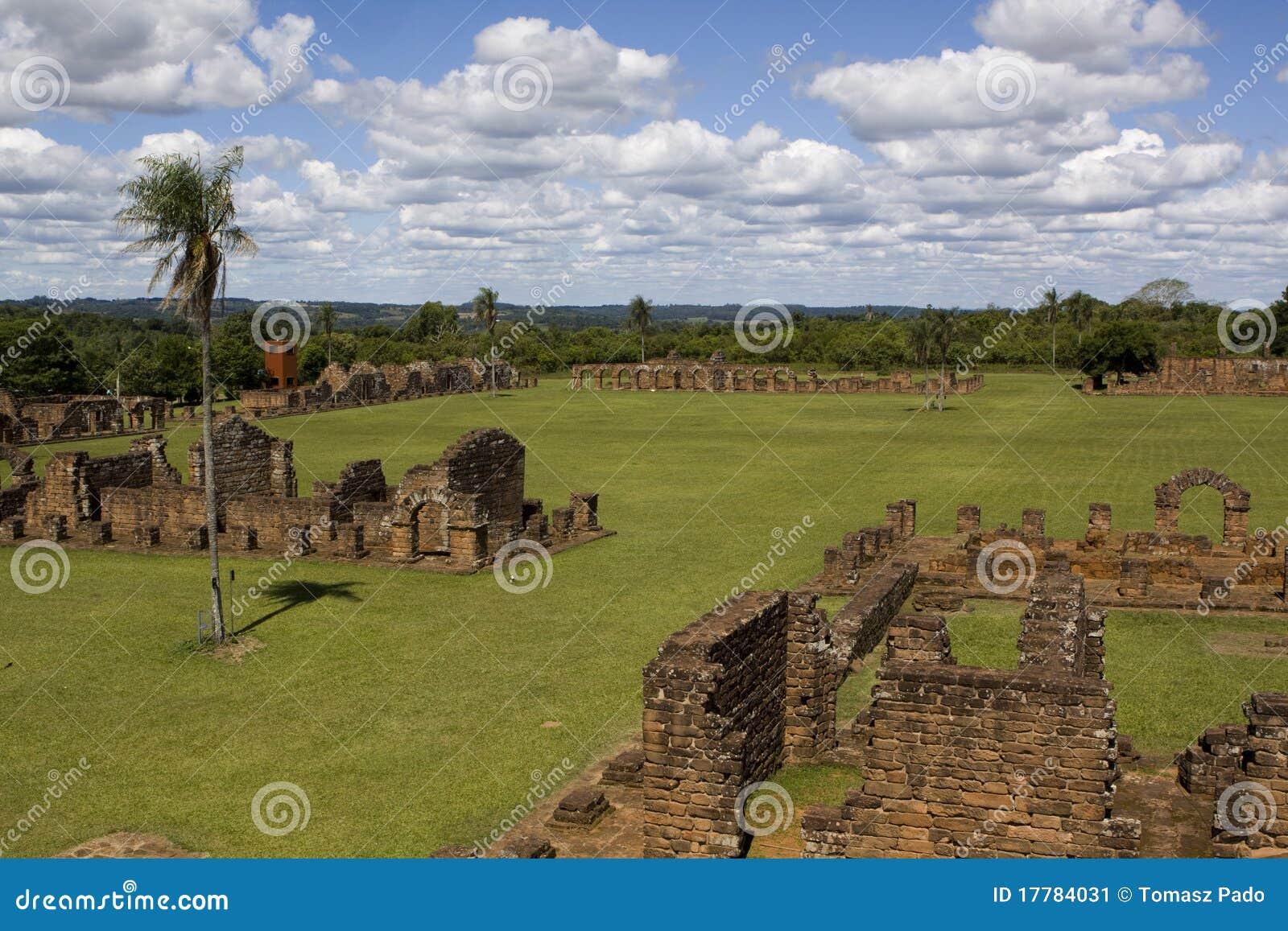 Ruines de jésuite au Trinidad