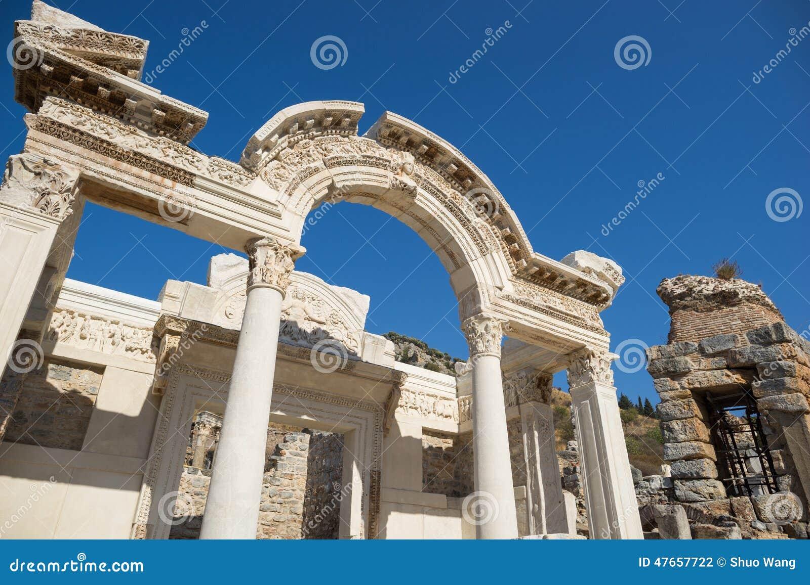 Ruines de la ville grecque Ephesus