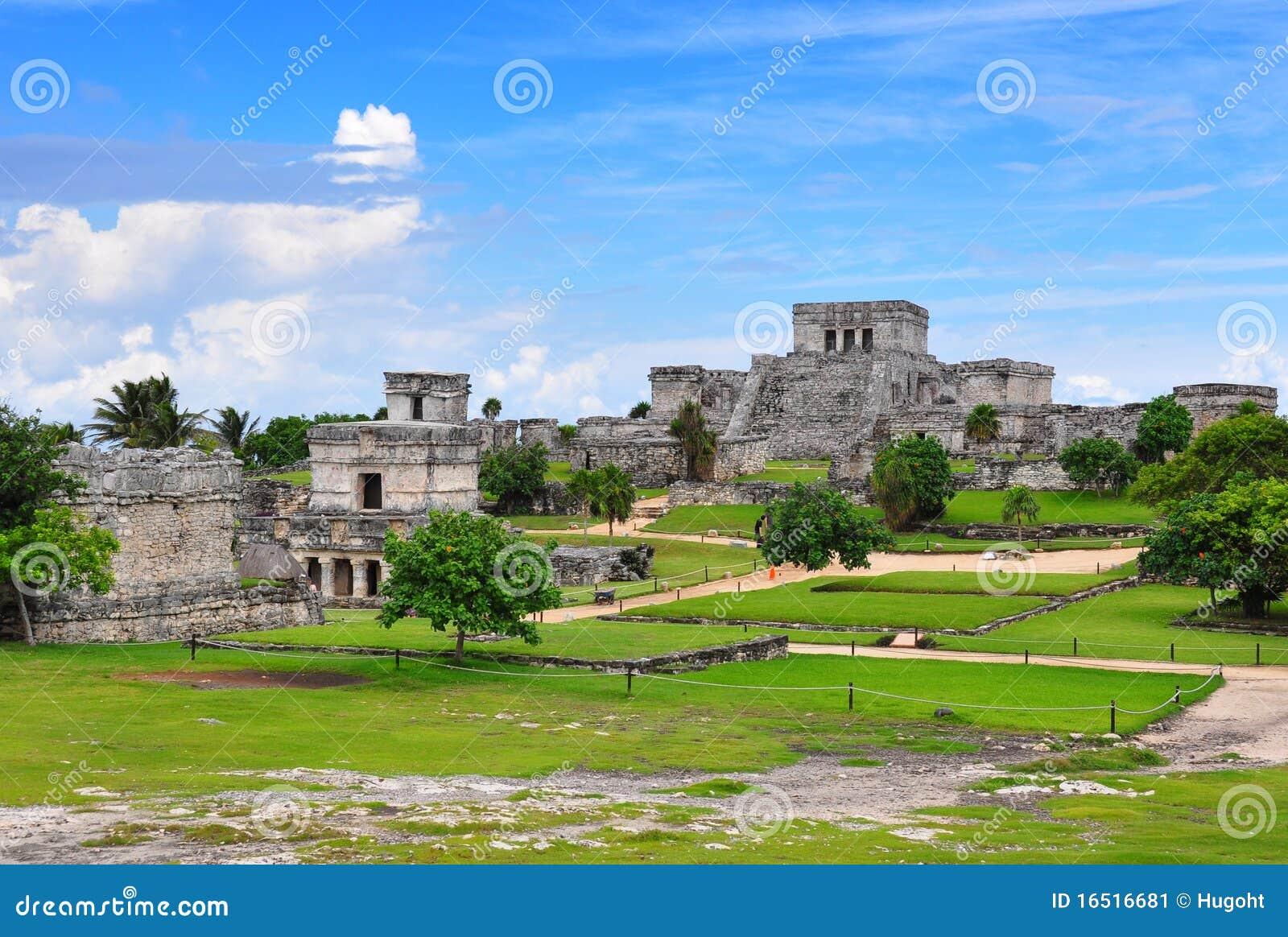 Ruines de Maya de Tulum, Mexique
