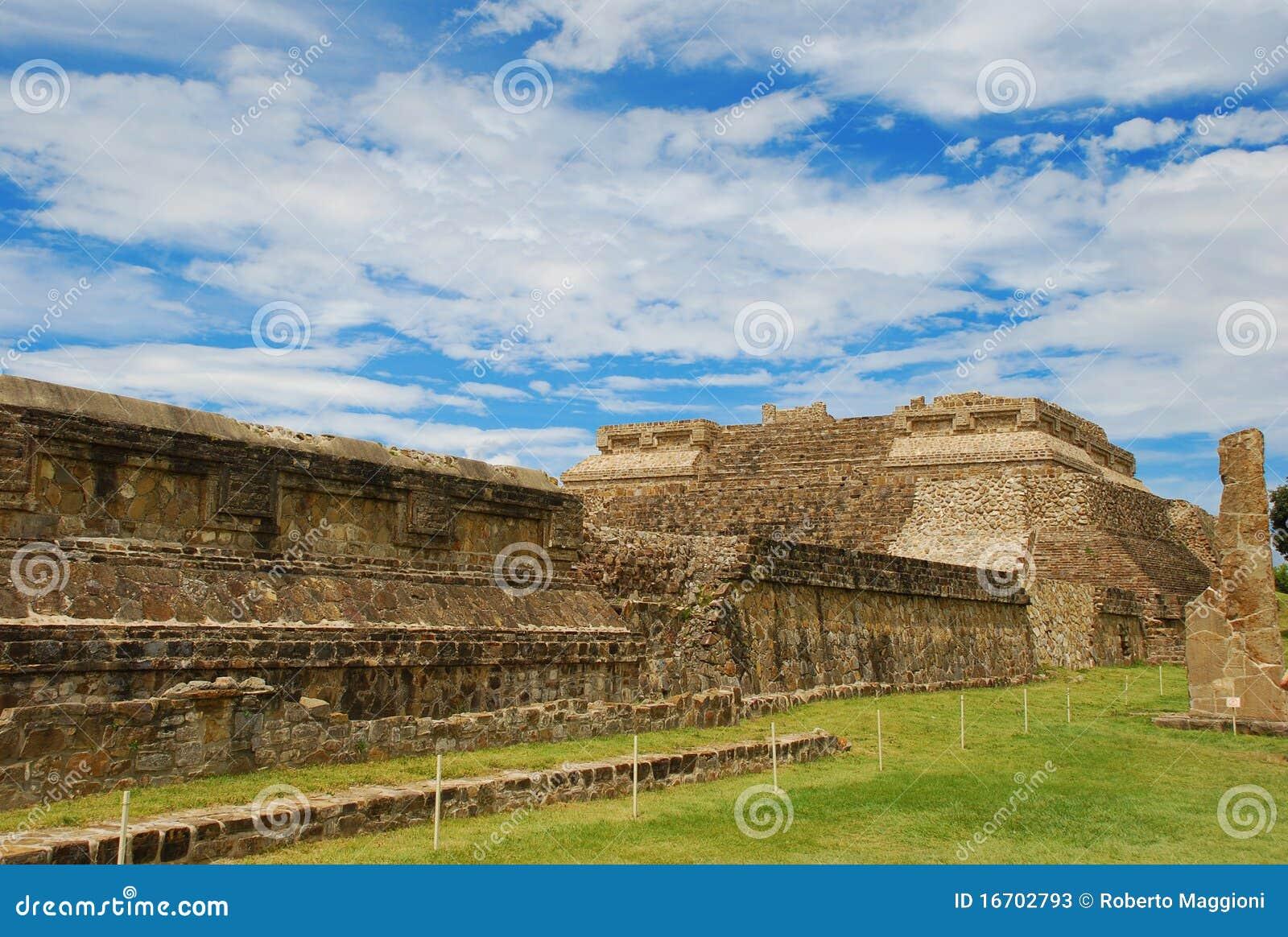 Ruines de Monte Alban, Oaxaca, Mexique