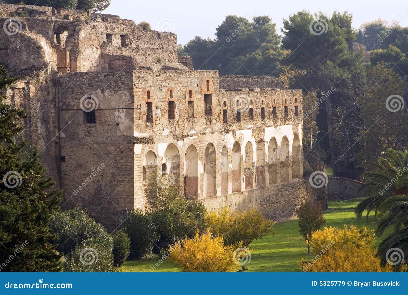Ruines de Pompeii