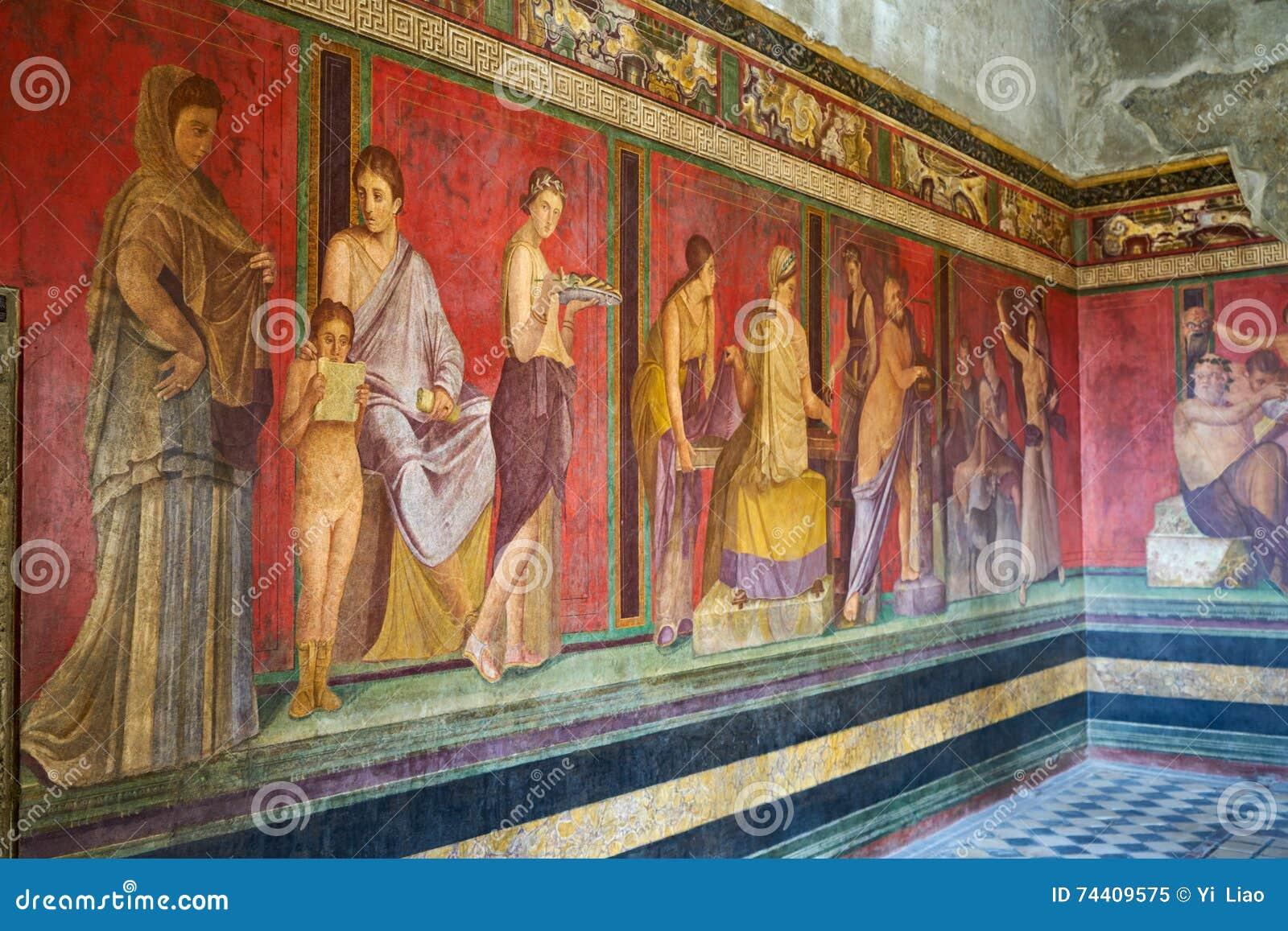 Ruines de Pompeii, Italie