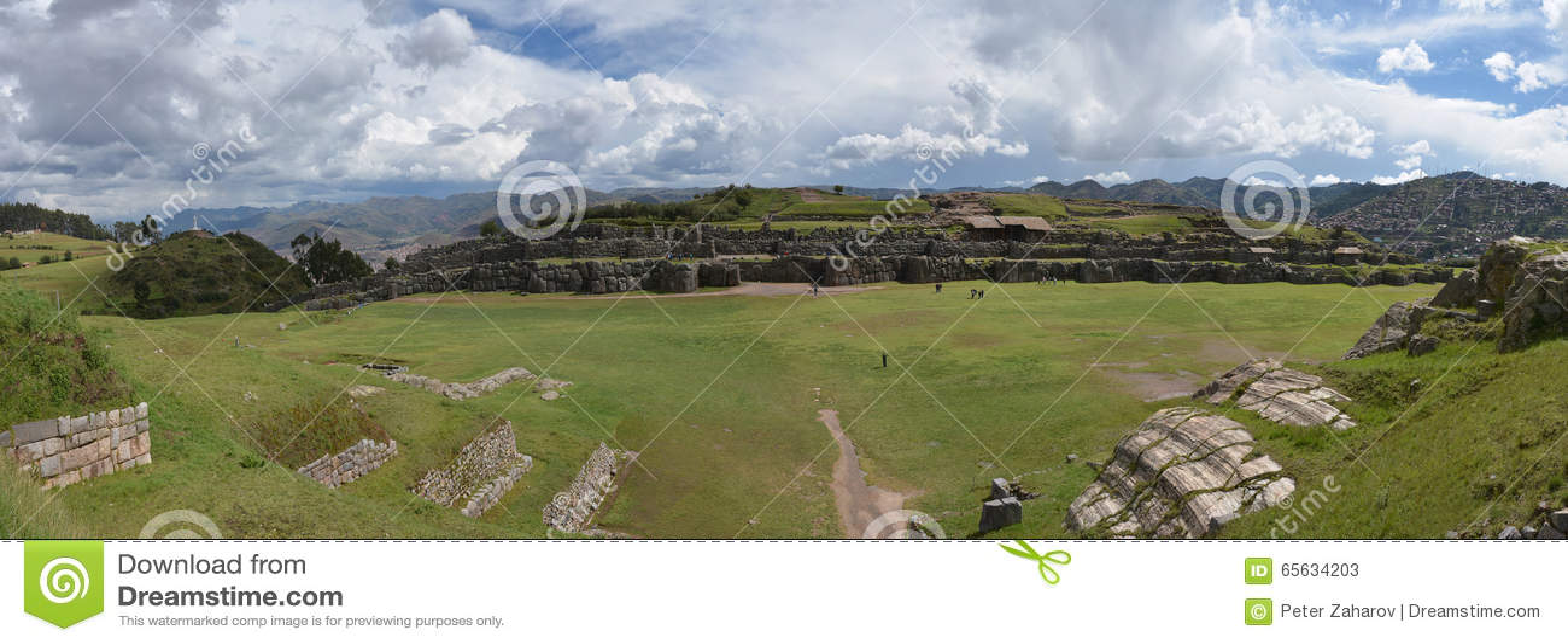 Ruines de Sacsayhuaman, Cuzco, Pérou