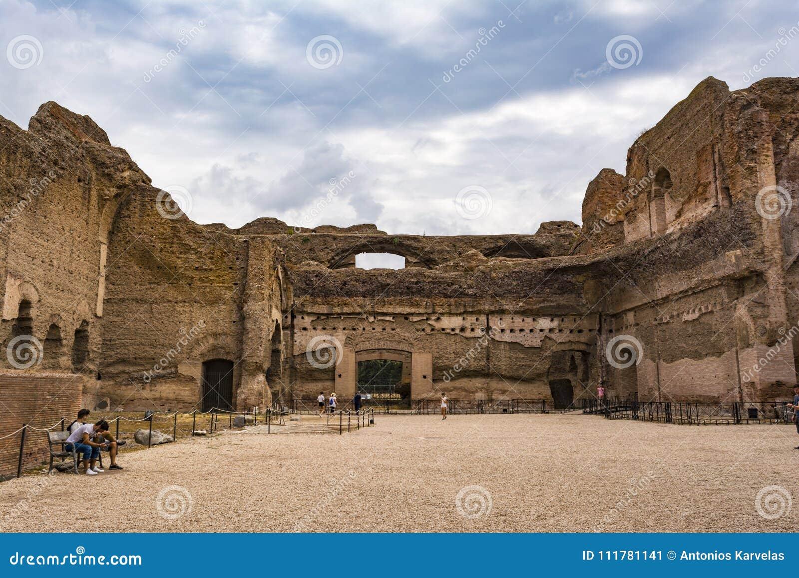 Ruines des bains de Caracalla - Terme di Caracalla