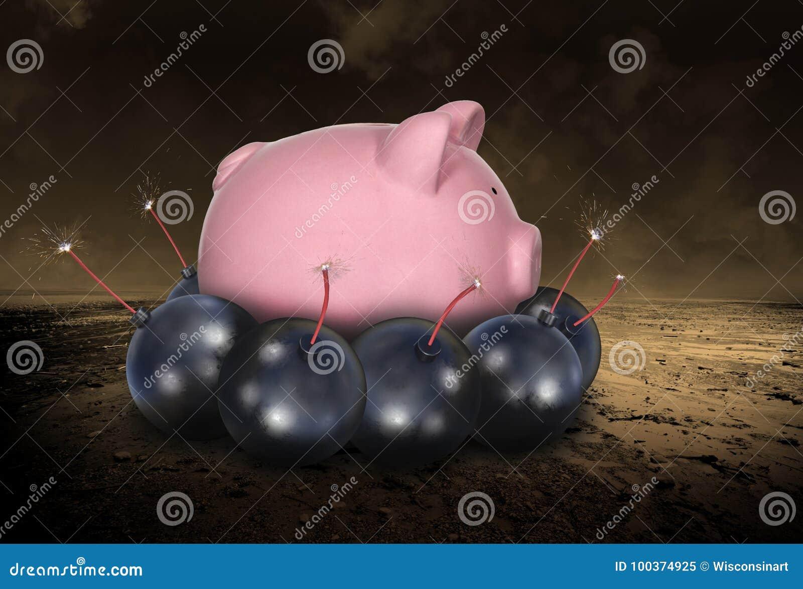 Ruinez, en enregistrant l argent, dette, investissant