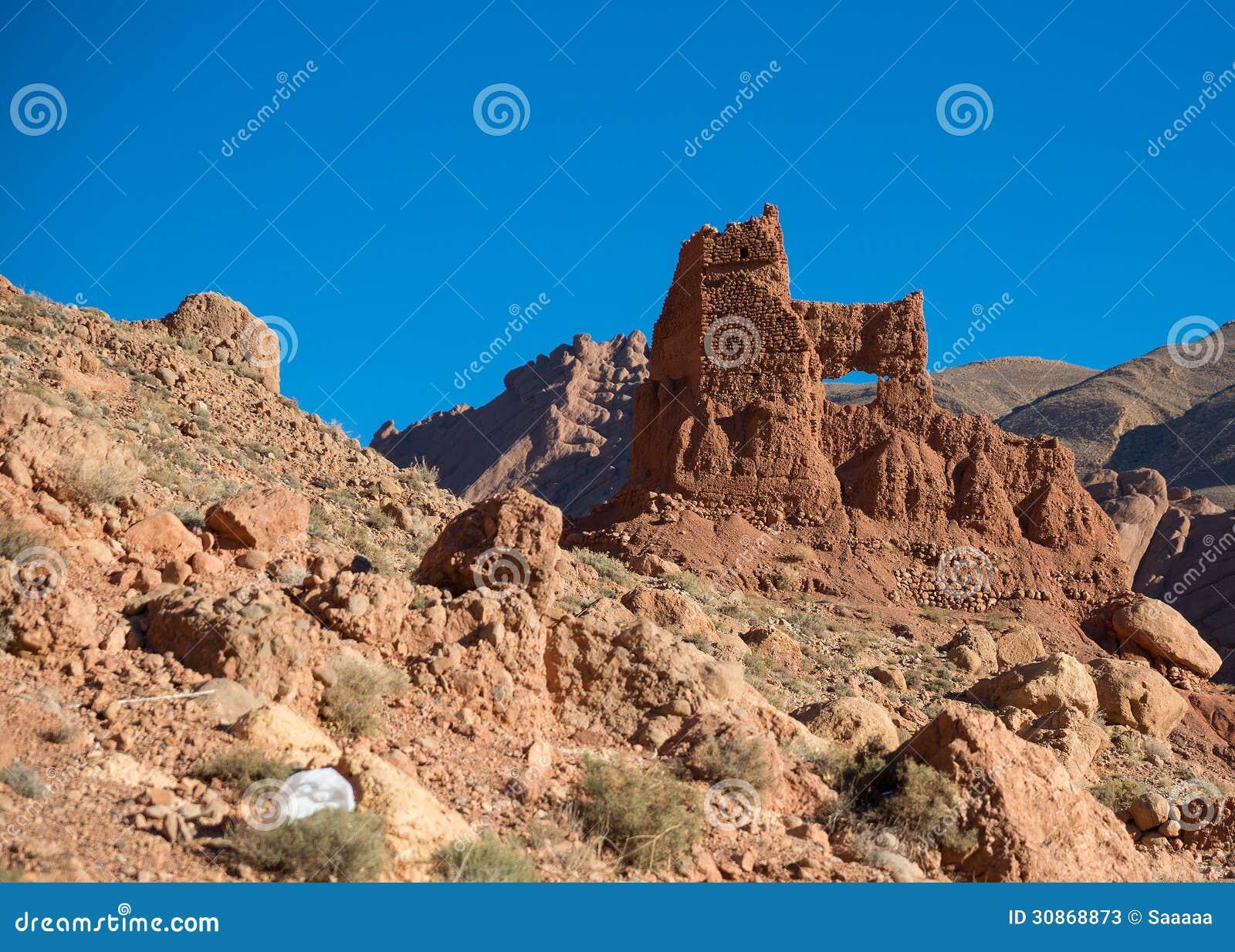 Ruiniertes Marokko Kasbah