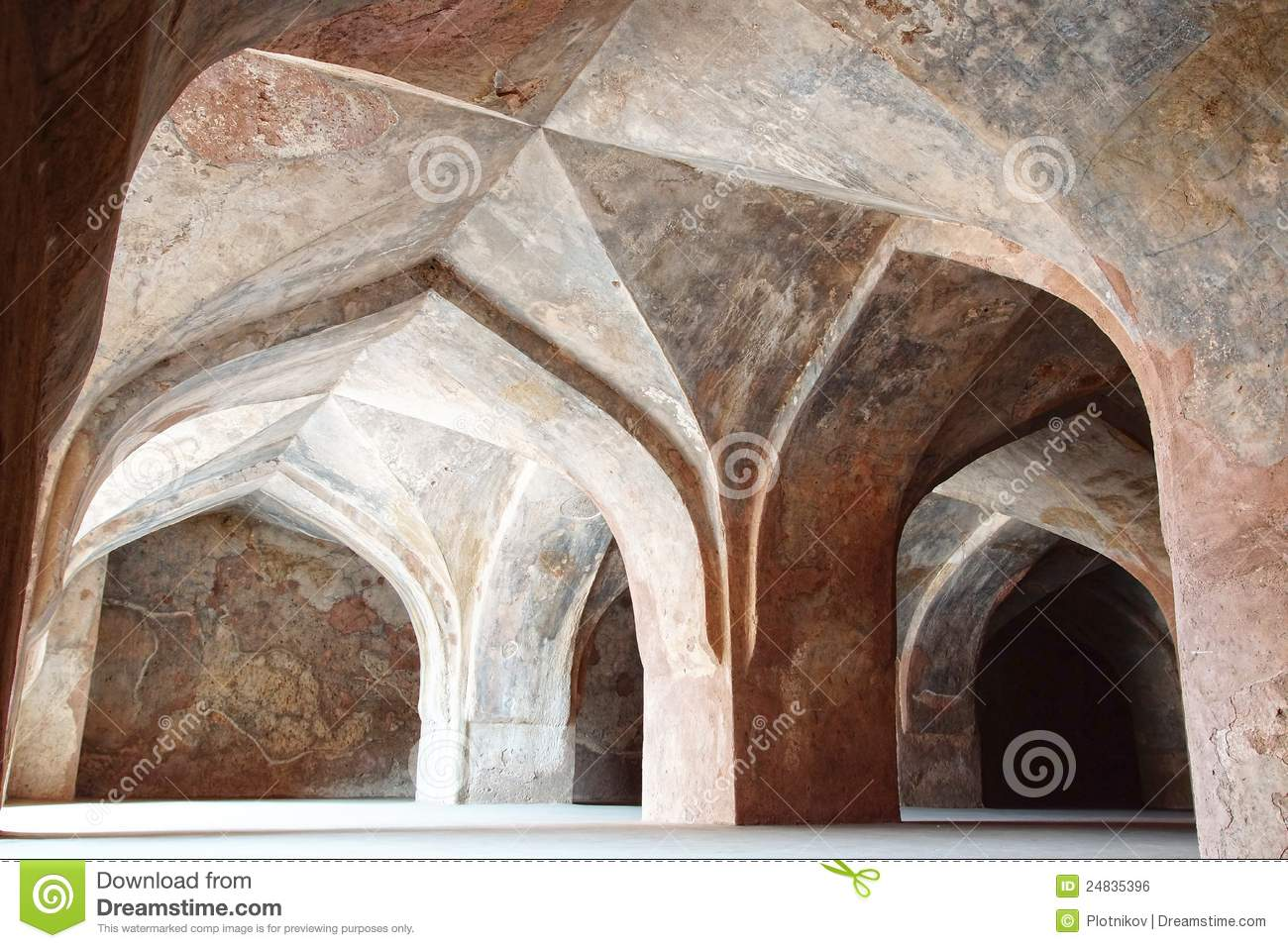 Ruins of Afghan architecture.