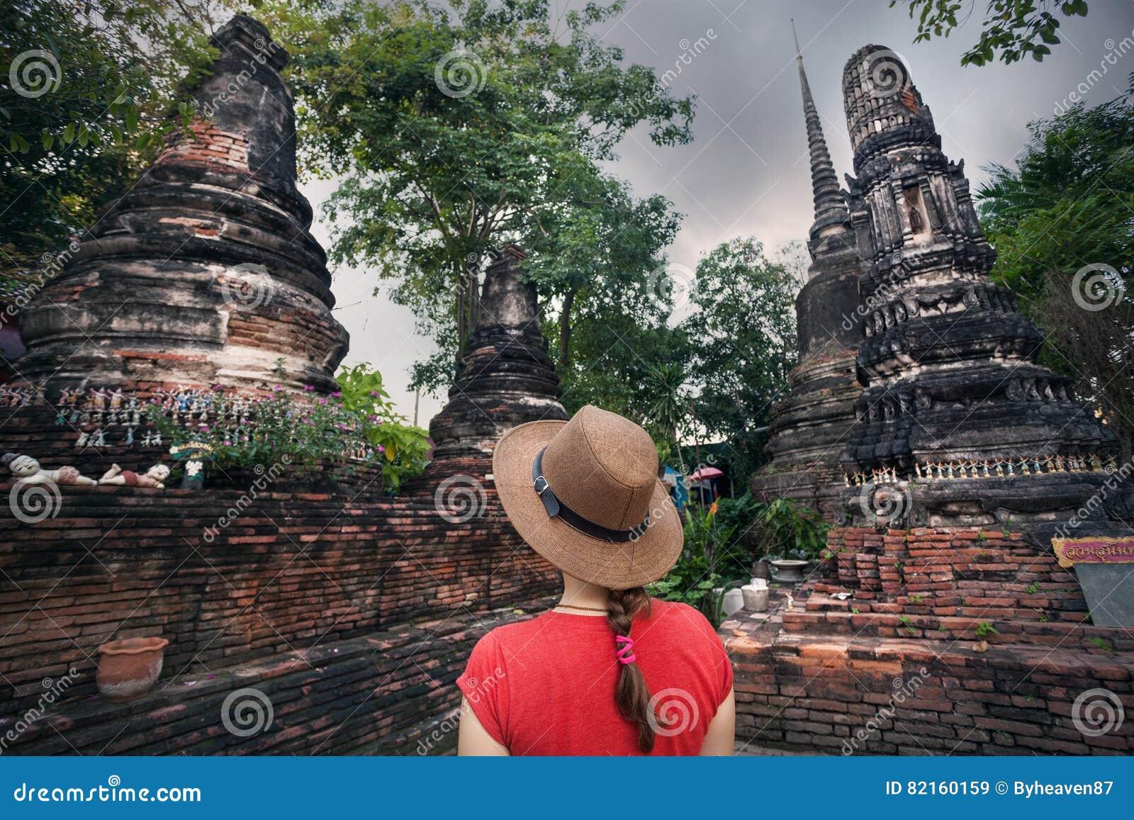 Ruins of Ancient capital Ayutthaya