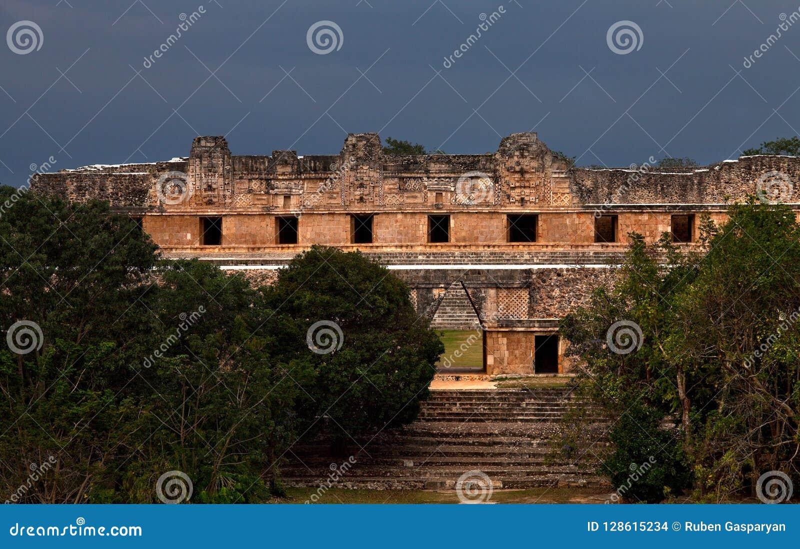 Ruins of Ancient maya cities