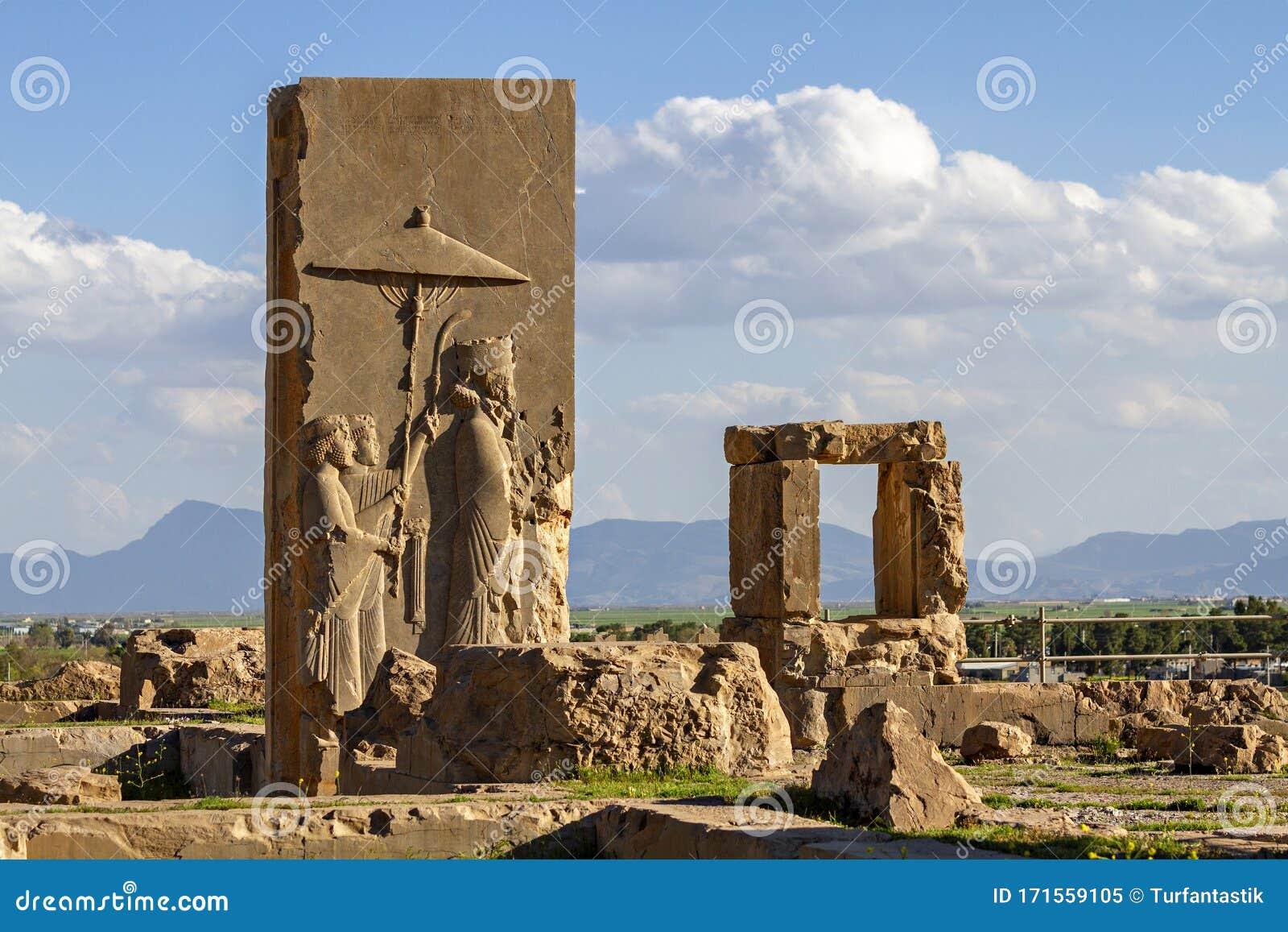 Ancient City Of Persepolis Shiraz Iran Stock Image Image Of Civilization Carving 171559105