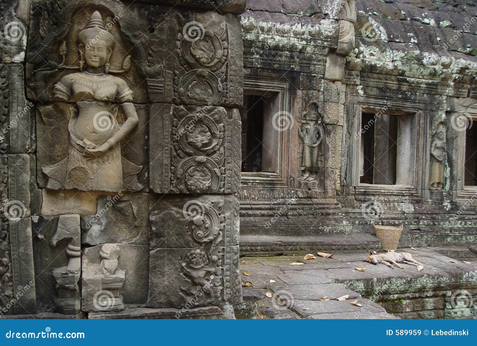 Ruins Angor Wat